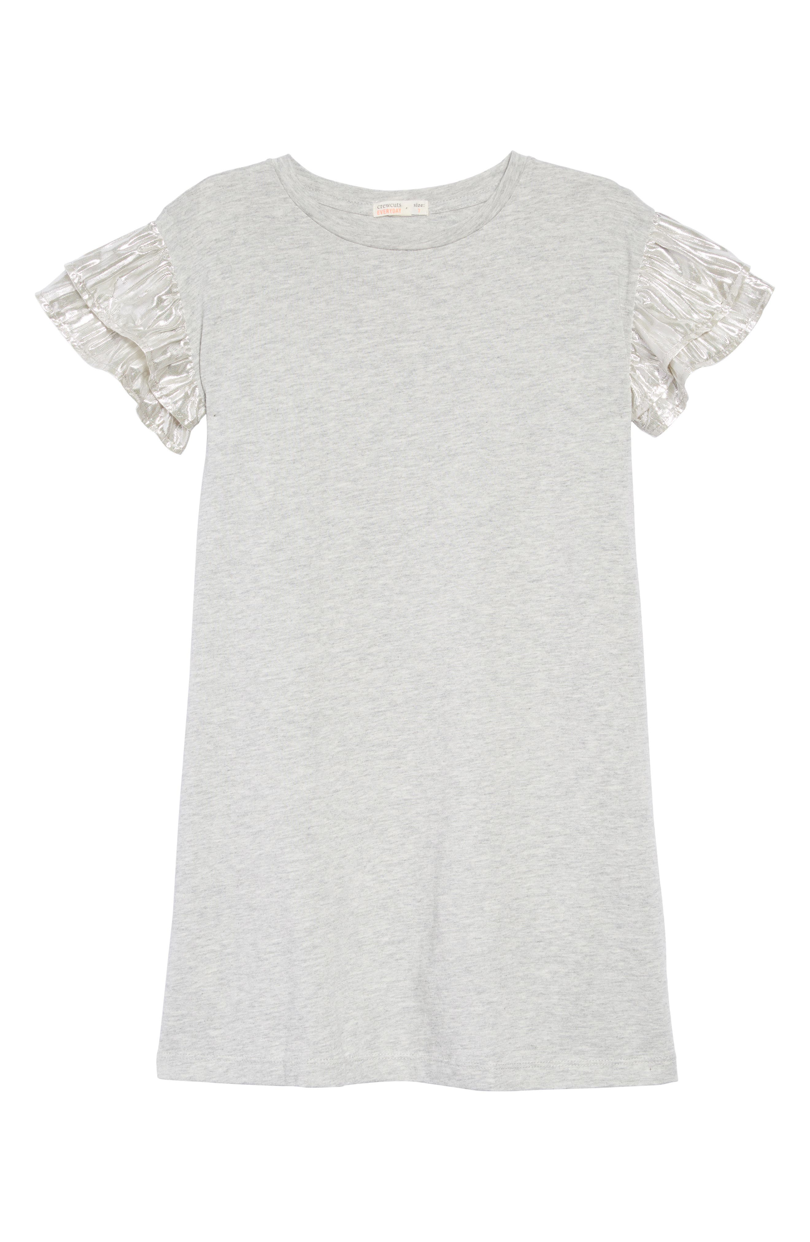 T-Shirt Dress,                         Main,                         color, HEATHER DUSK