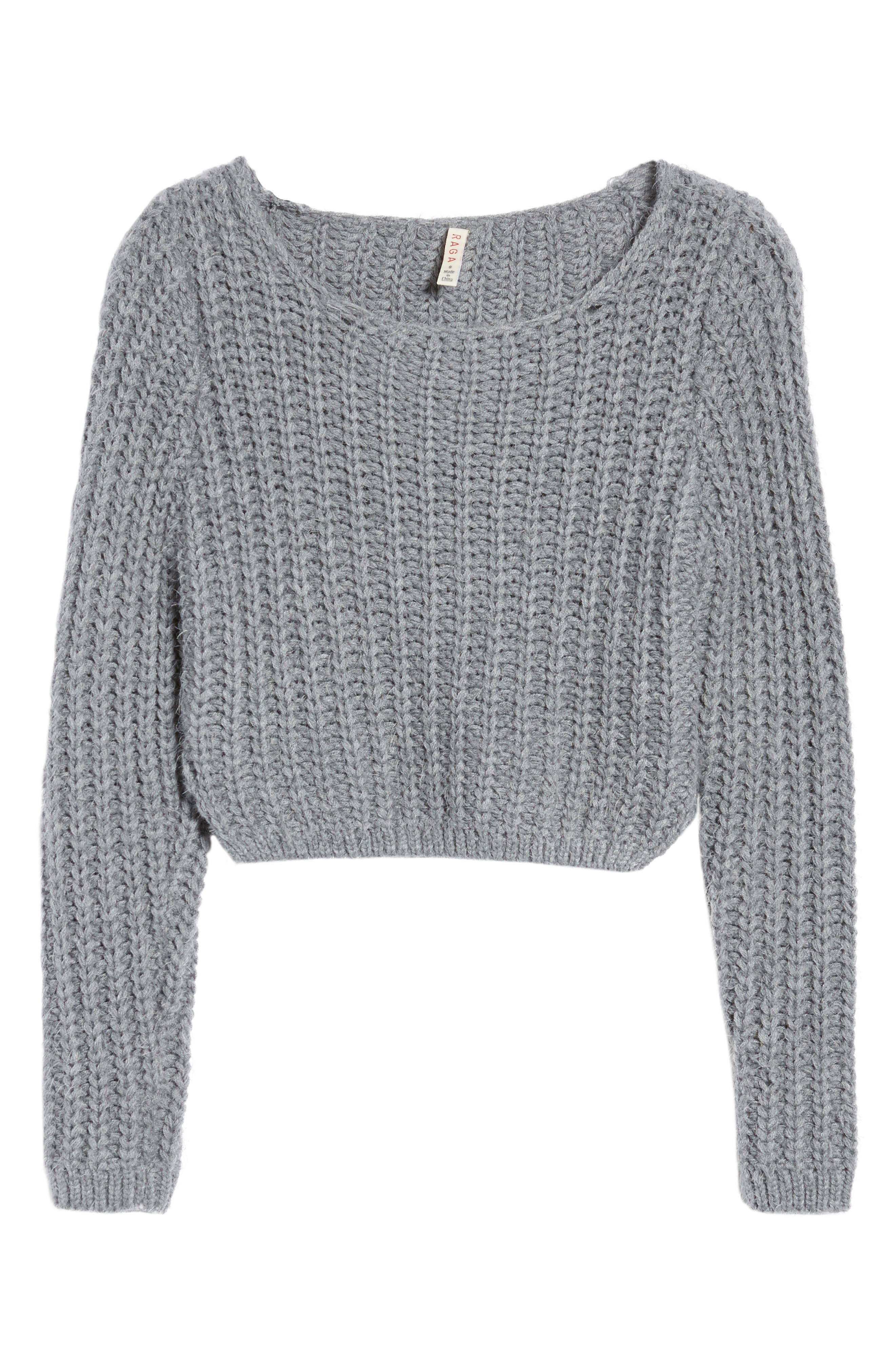 Bethany Crop Sweater,                             Alternate thumbnail 6, color,                             020