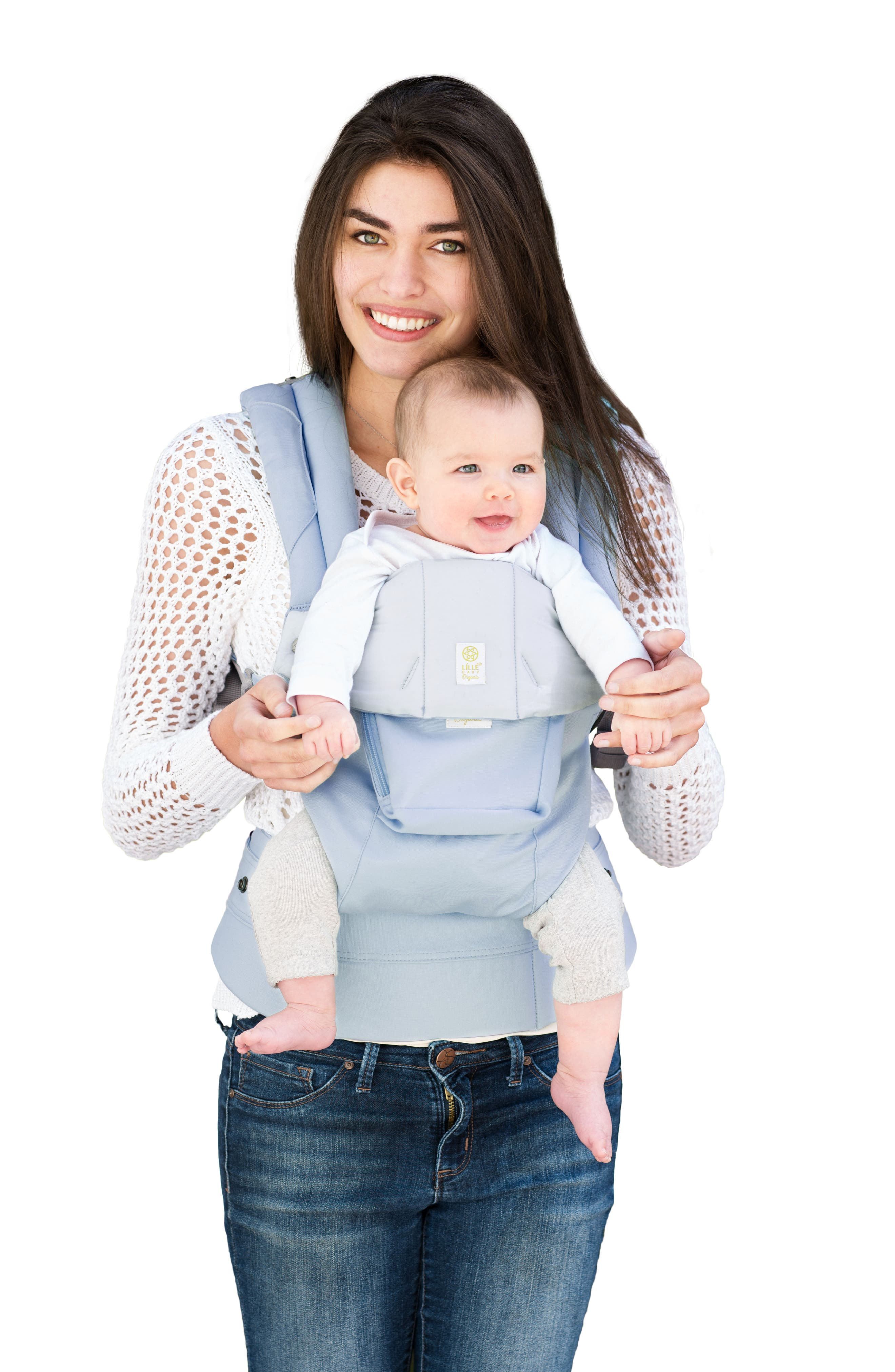 Complete 6-Position Organic Cotton Baby Carrier,                             Alternate thumbnail 3, color,                             400
