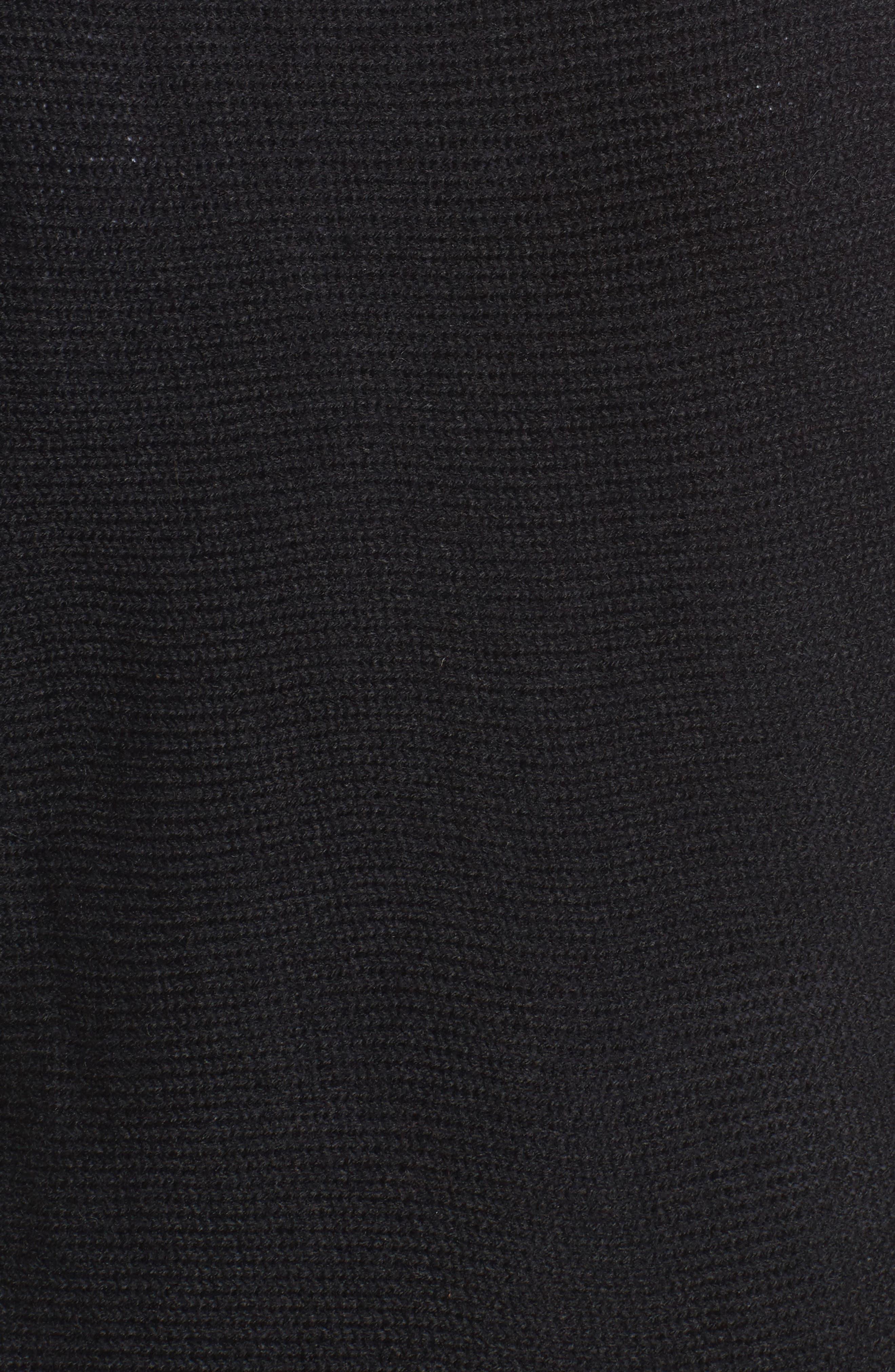 Faded Stripes Knit Vest,                             Alternate thumbnail 5, color,                             001