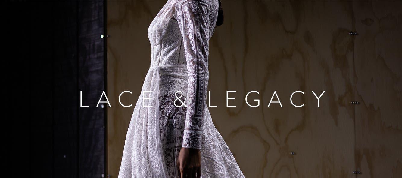 Lace and legacy: designer Jonathan Simkhai.