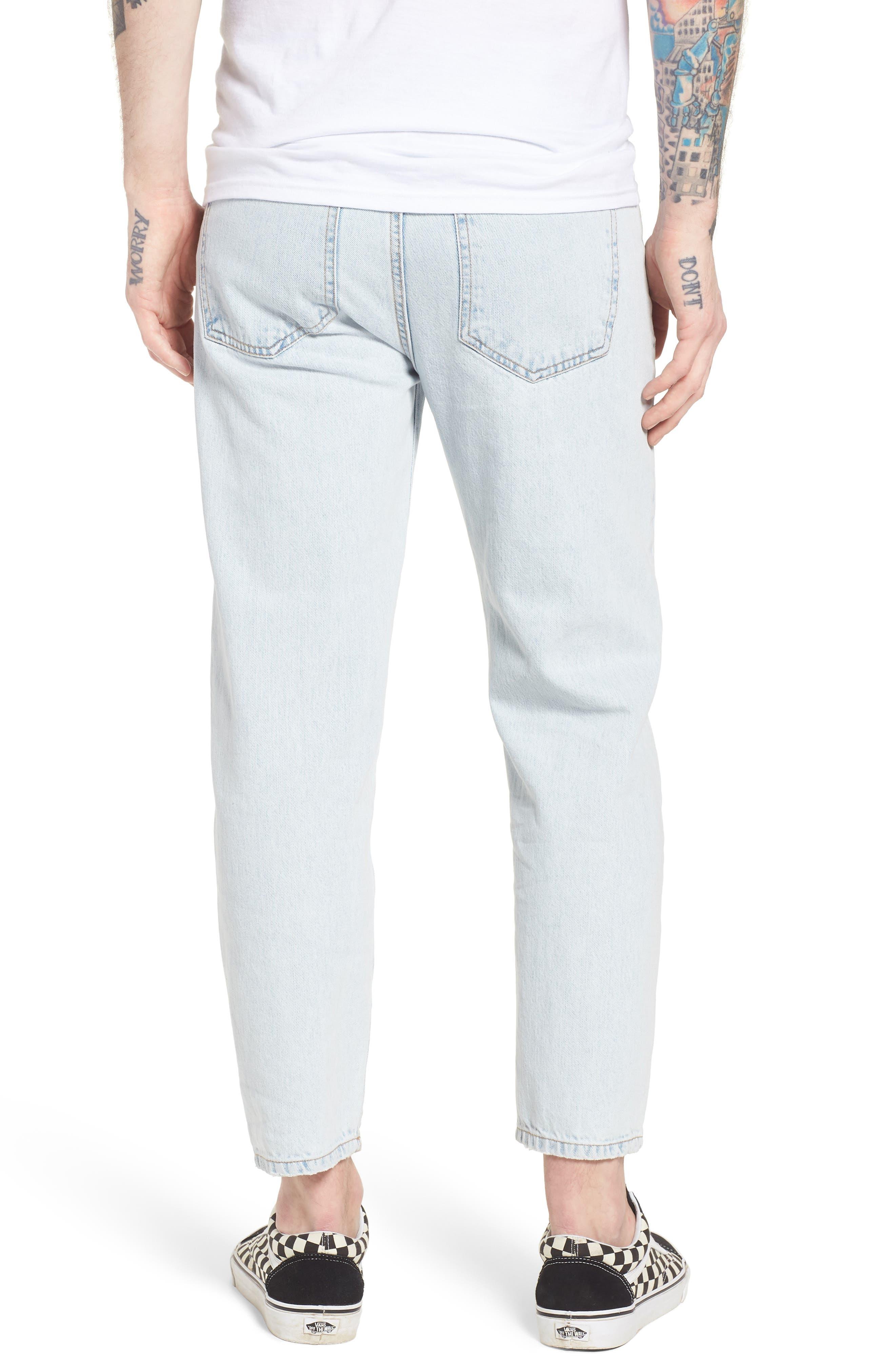 Otis Straight Fit Jeans,                             Alternate thumbnail 2, color,                             401