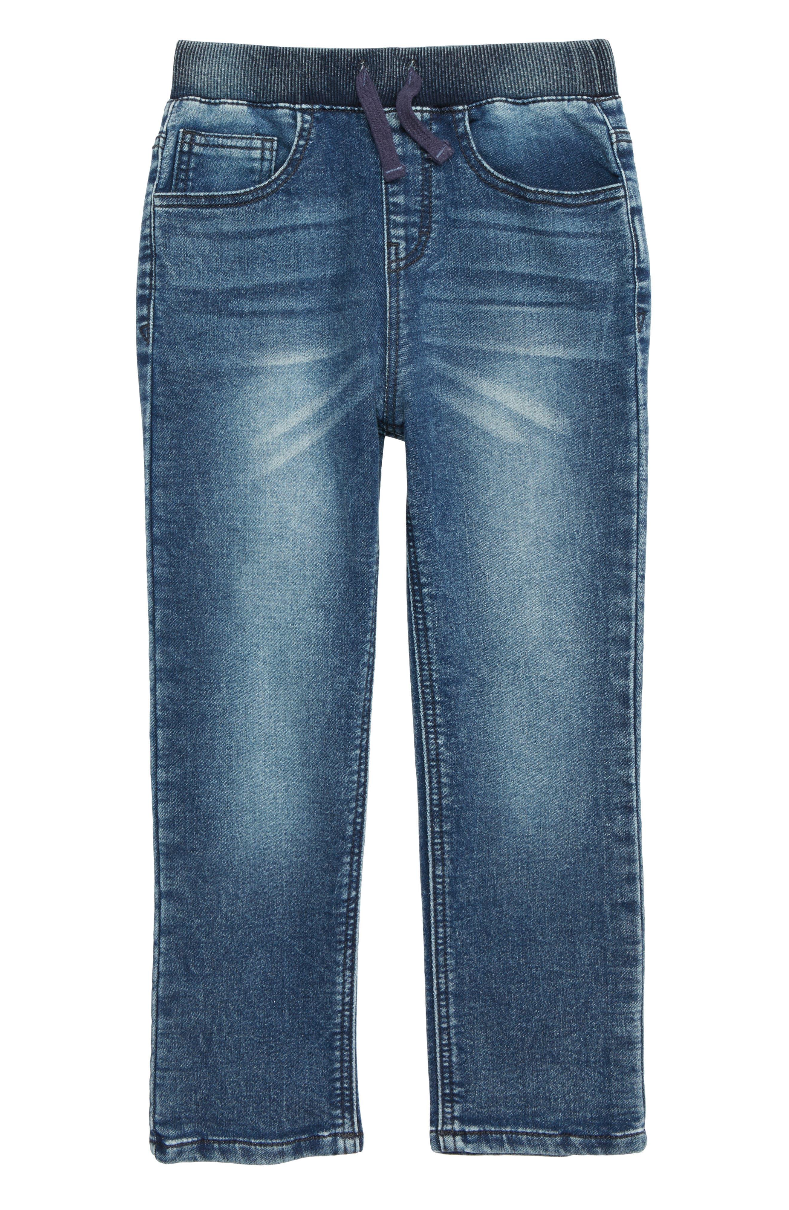 FLAPDOODLES Knit Jeans, Main, color, 488