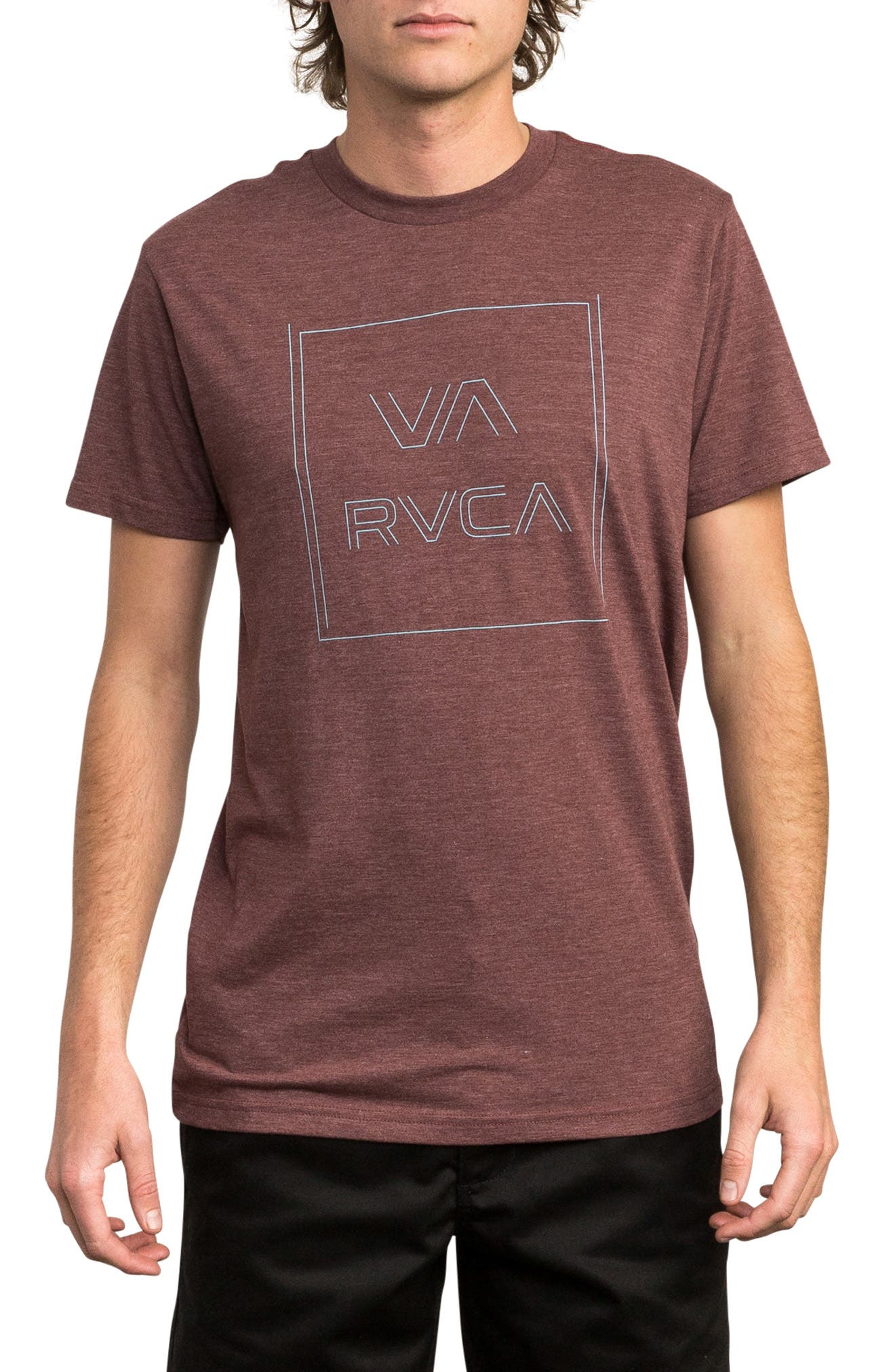 Pinner All the Way Graphic T-Shirt,                             Main thumbnail 1, color,                             BORDEAUX