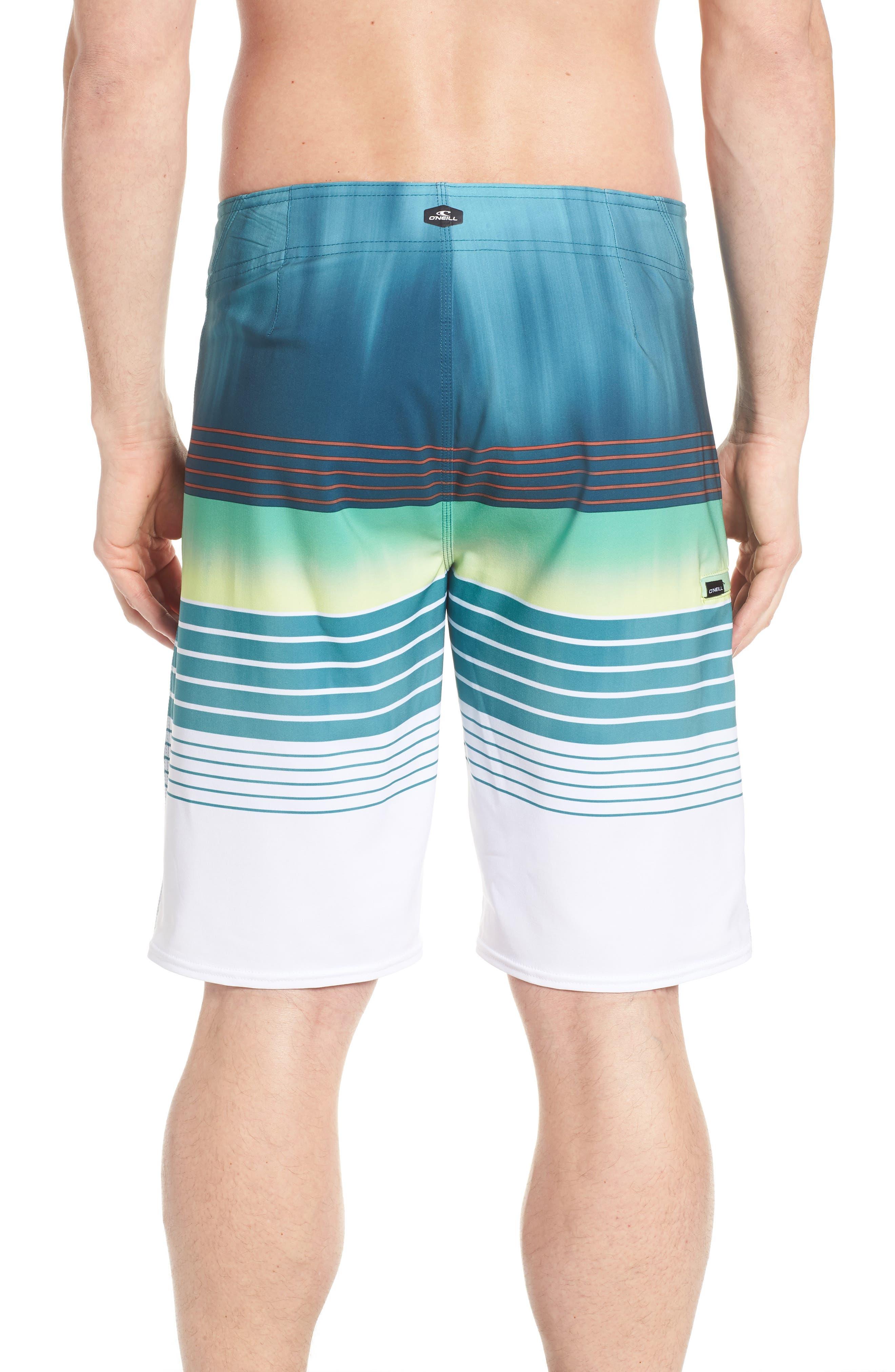 Hyperfreak Heist Board Shorts,                             Alternate thumbnail 2, color,                             DARK BLUE