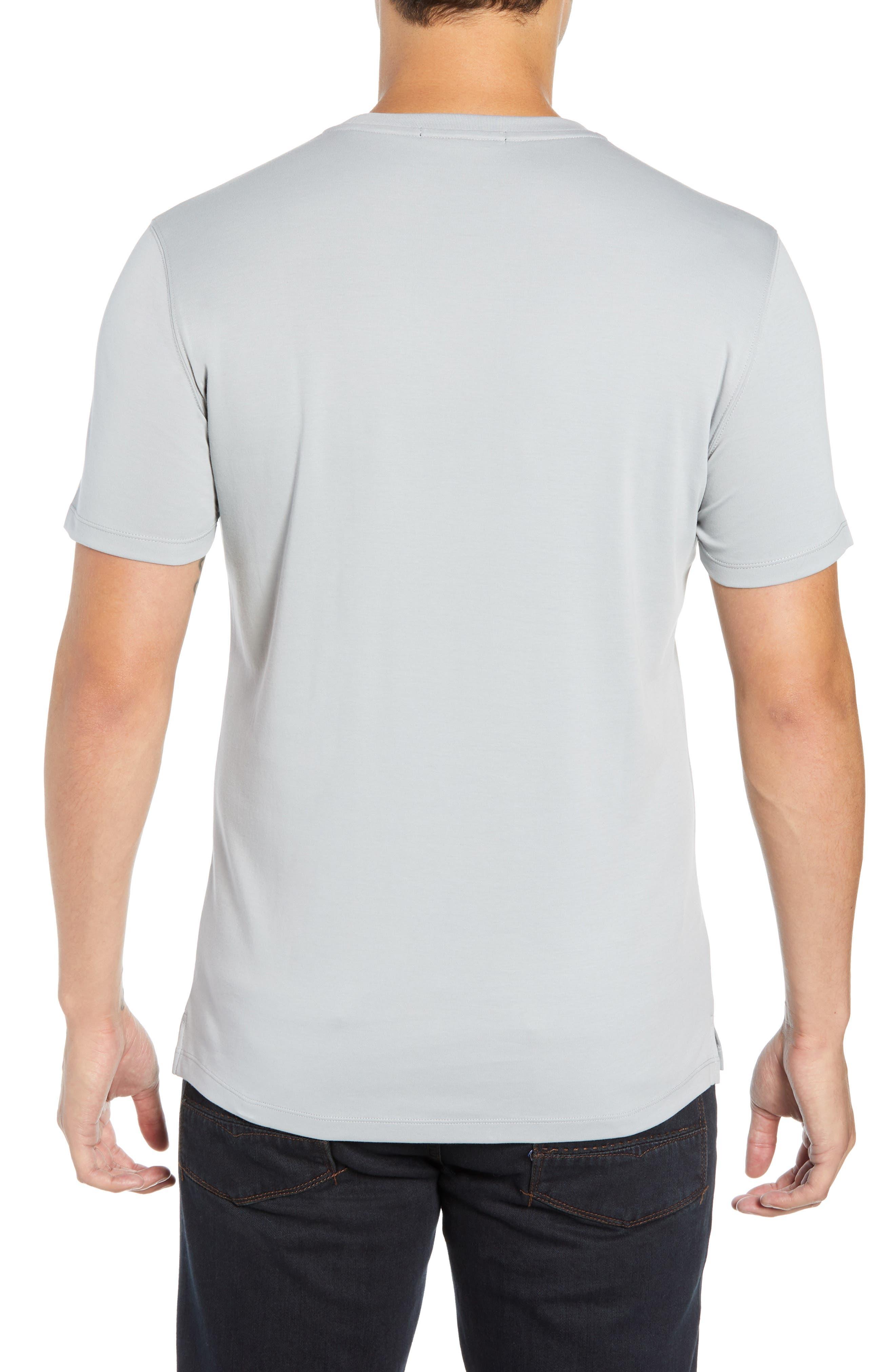 ROBERT BARAKETT,                             'Georgia' Crewneck T-Shirt,                             Alternate thumbnail 2, color,                             MOON DUST