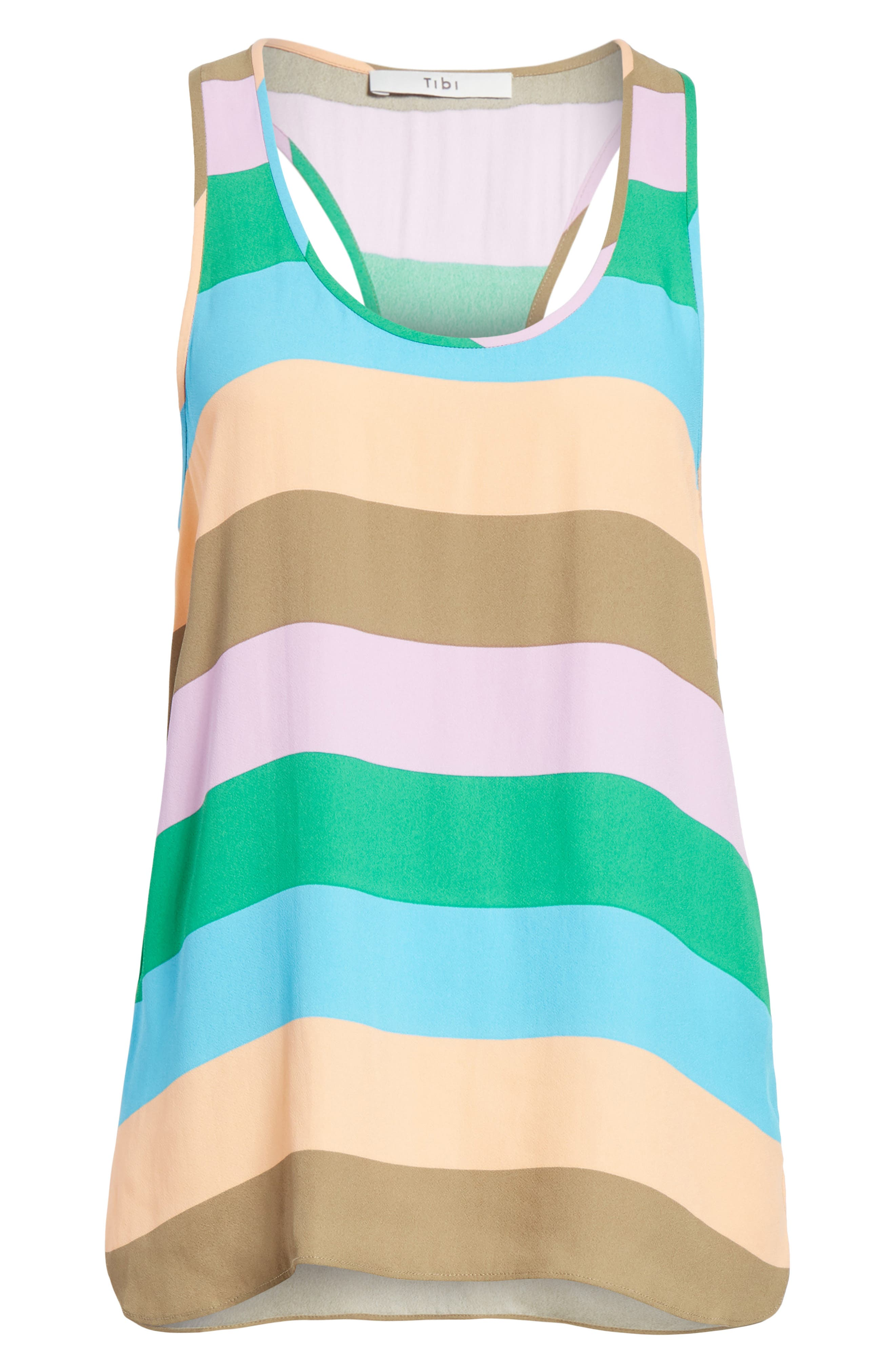 Julian Stripe Tank,                             Alternate thumbnail 6, color,                             620