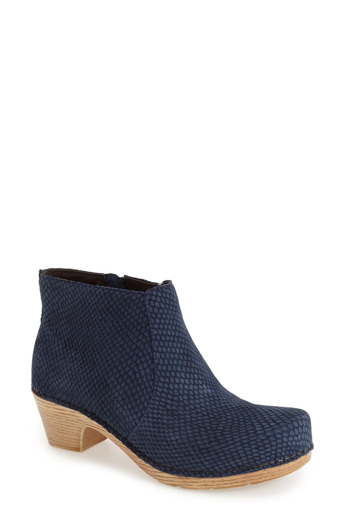 'Maria' Bootie,                             Main thumbnail 8, color,