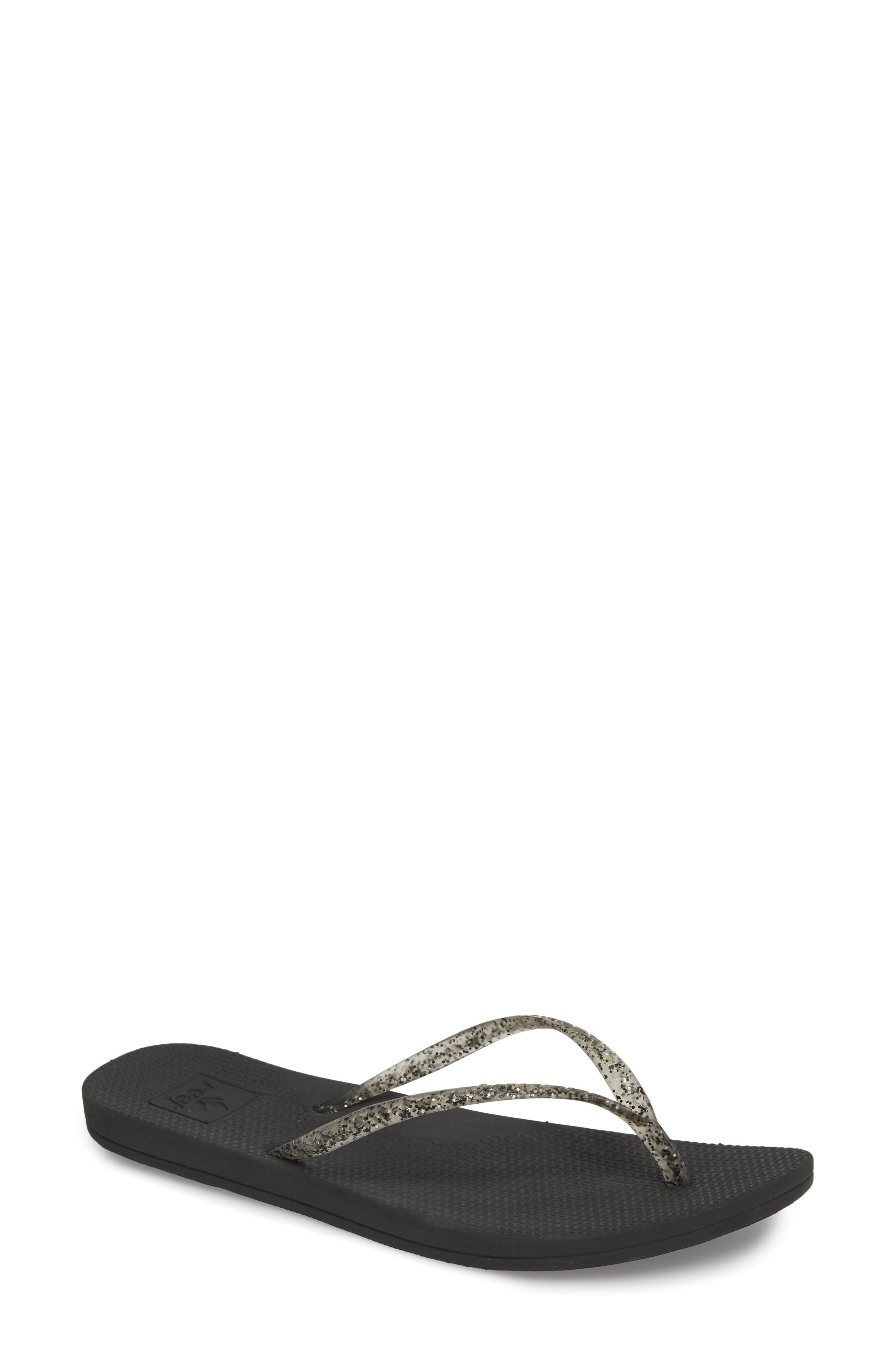 Lux Shimmer Flip Flop,                         Main,                         color, 001