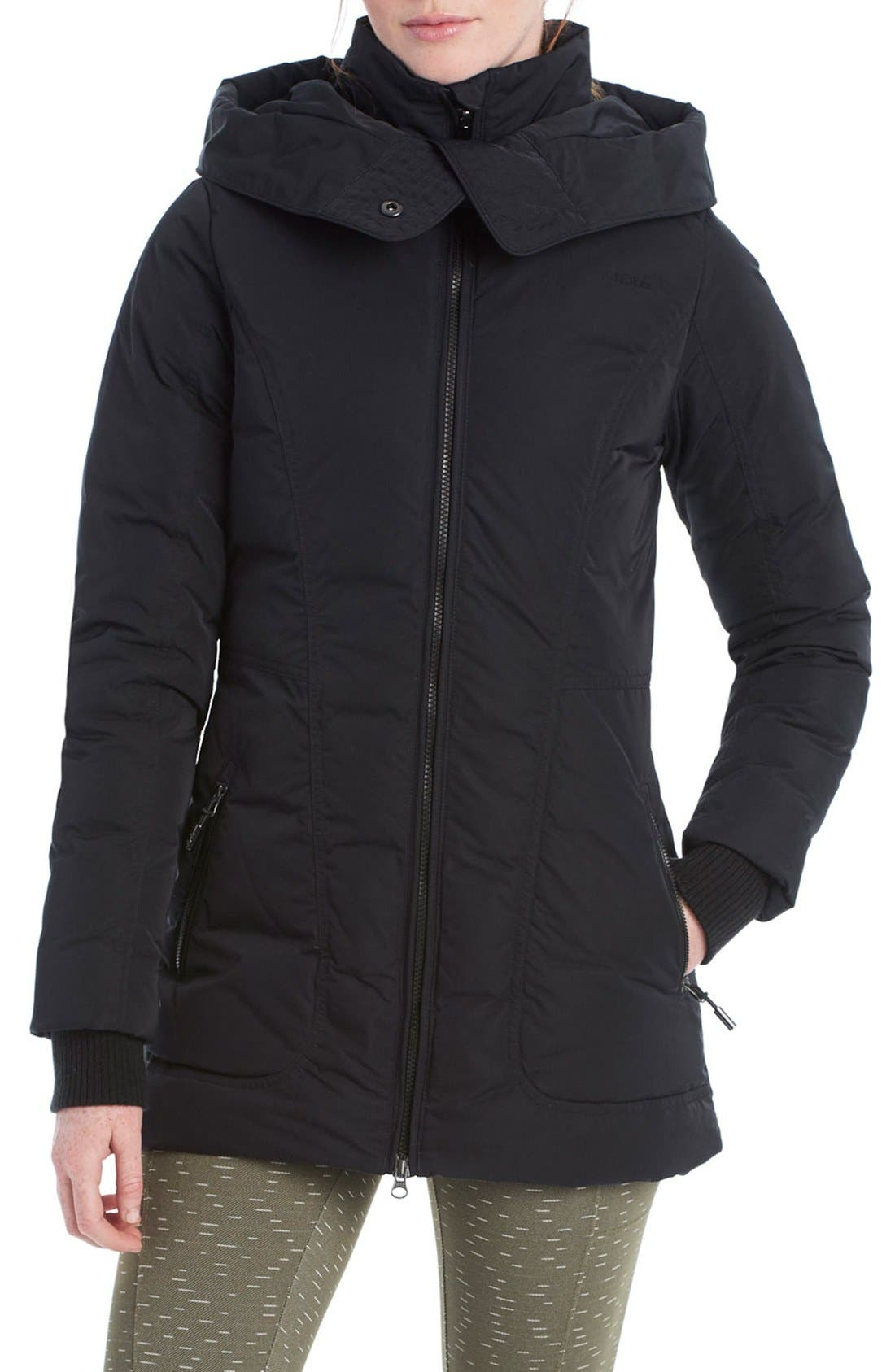 LOLE 'Nicky' Hooded Insulated Jacket, Main, color, 001