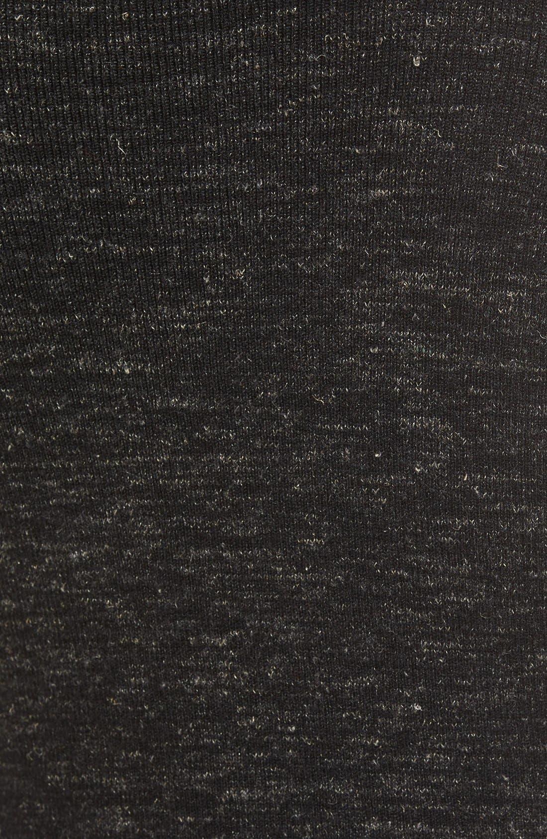 'The Mélange' Cold Shoulder Sweater,                             Alternate thumbnail 3, color,                             001