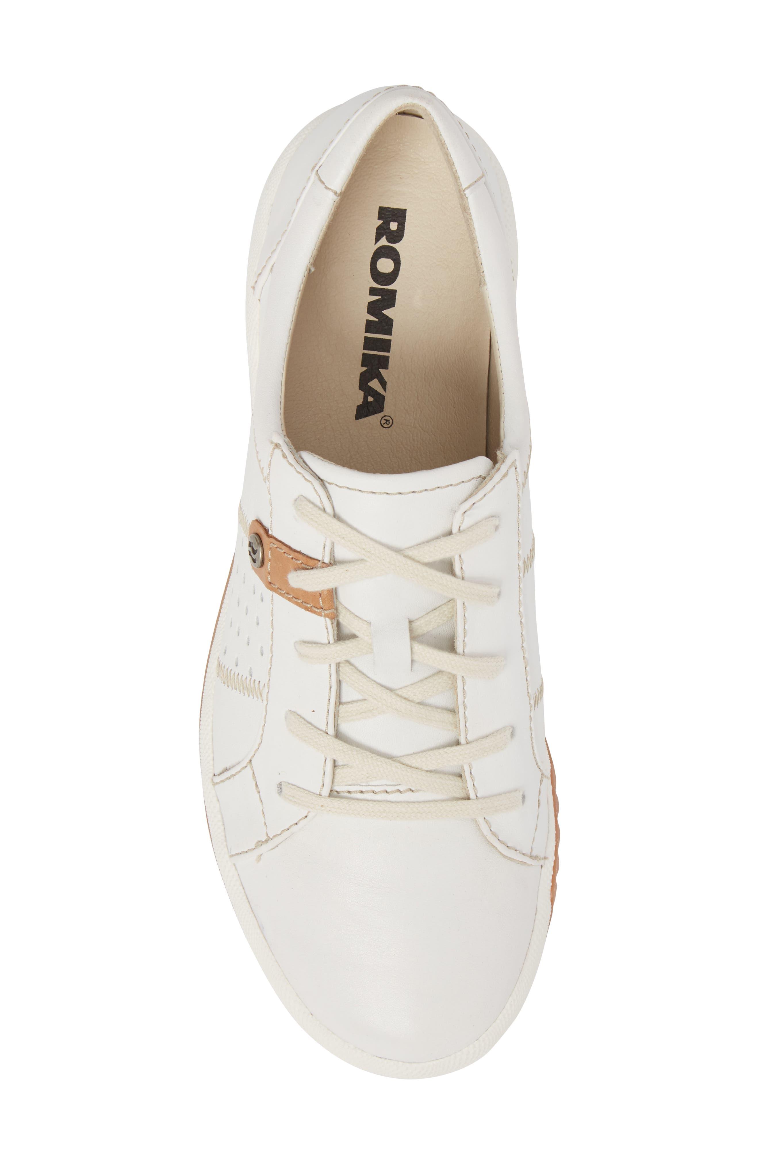 Cordoba 01 Sneaker,                             Alternate thumbnail 5, color,                             WHITE LEATHER