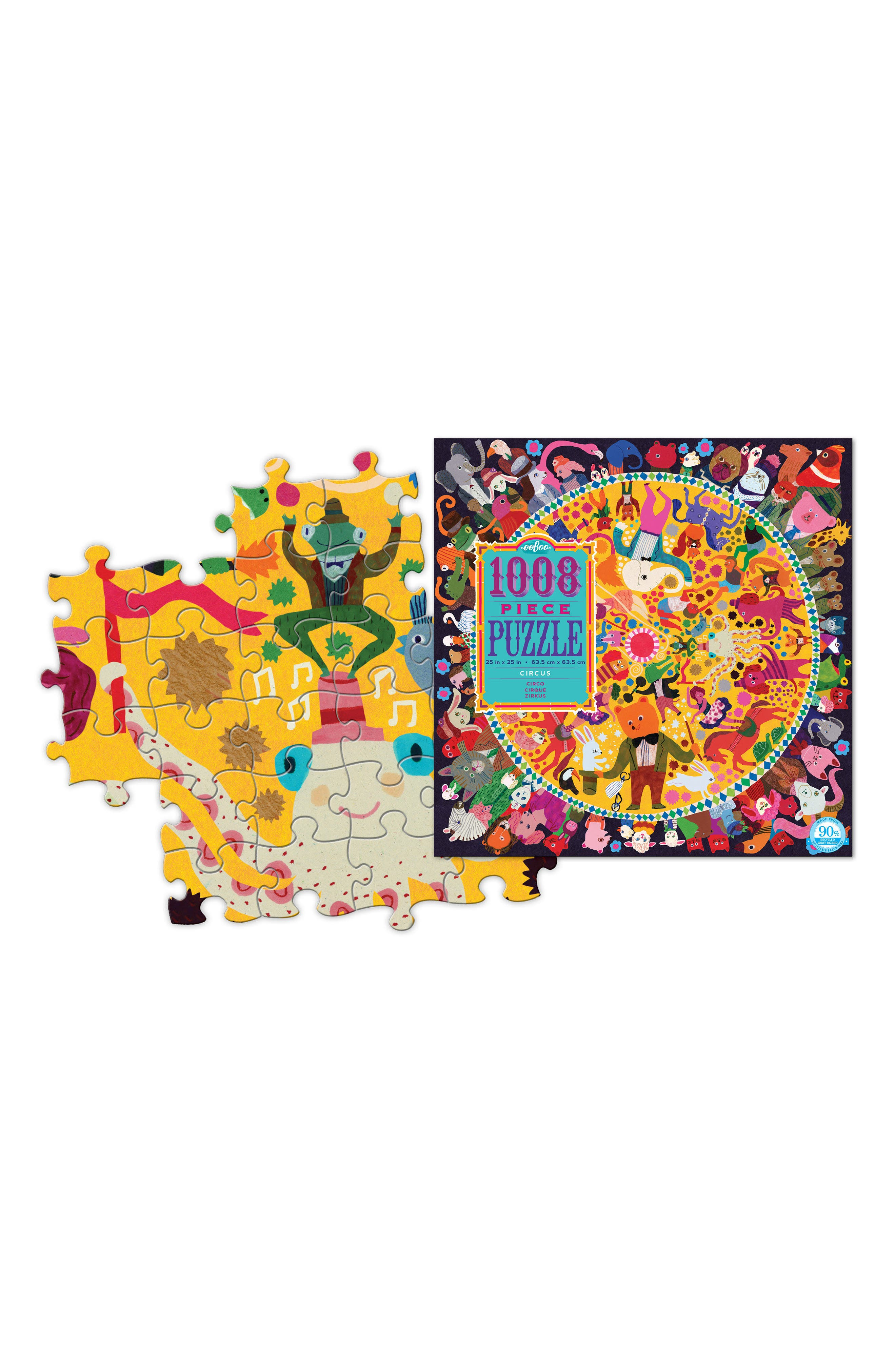 Circus Jigsaw Puzzle,                             Alternate thumbnail 3, color,                             MULTI