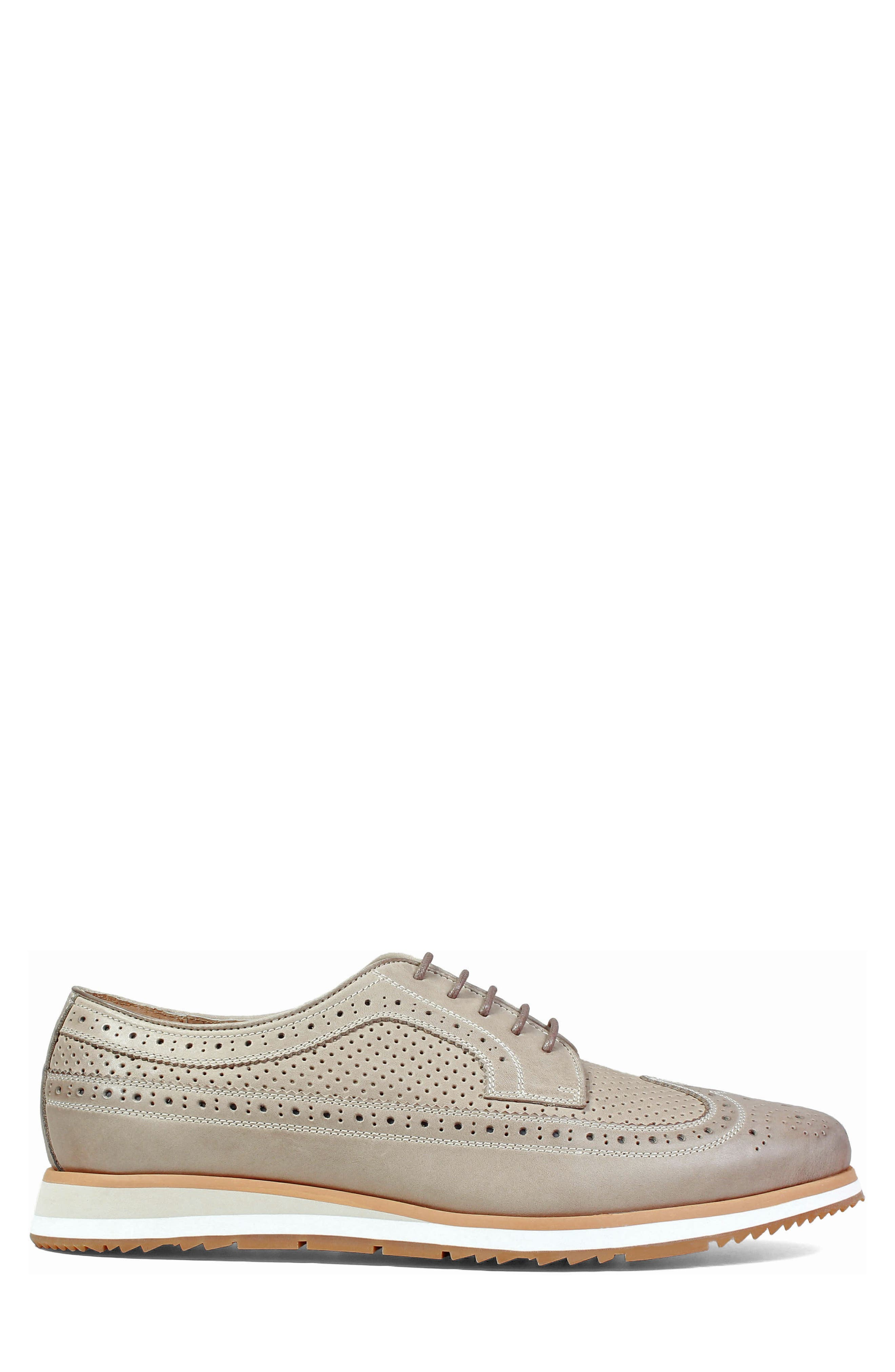 Limited Flux Perforated Wingtip Derby,                             Alternate thumbnail 8, color,