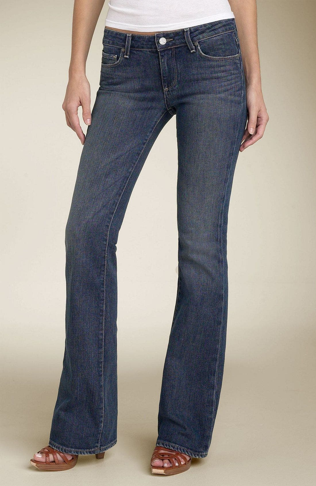Denim 'Hollywood Hills' Bootcut Stretch Jeans,                             Alternate thumbnail 2, color,                             DCN