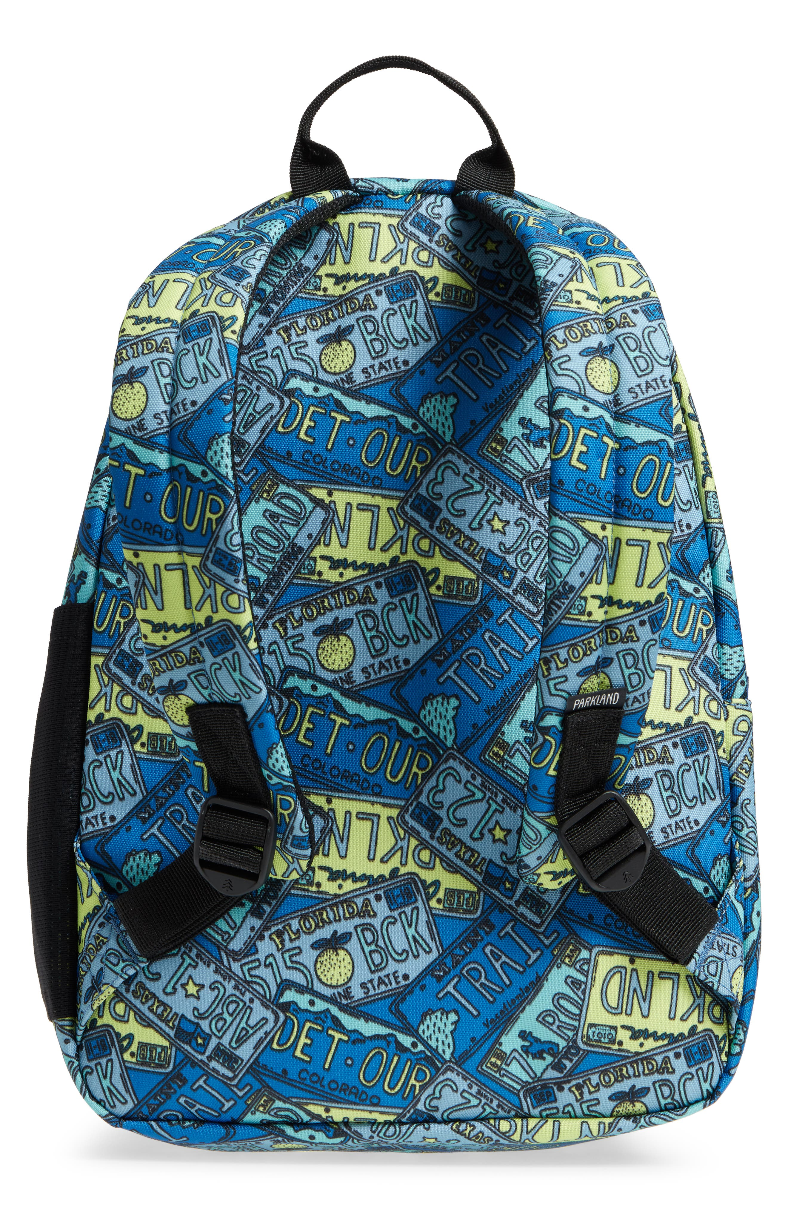 Bayside Print Backpack,                             Alternate thumbnail 5, color,