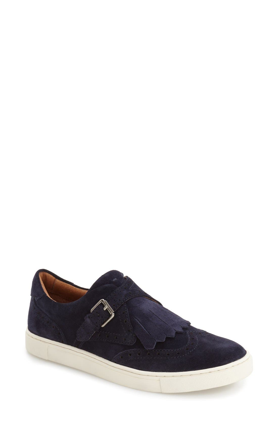 'Gemma' Kiltie Slip On-Sneaker,                             Main thumbnail 3, color,