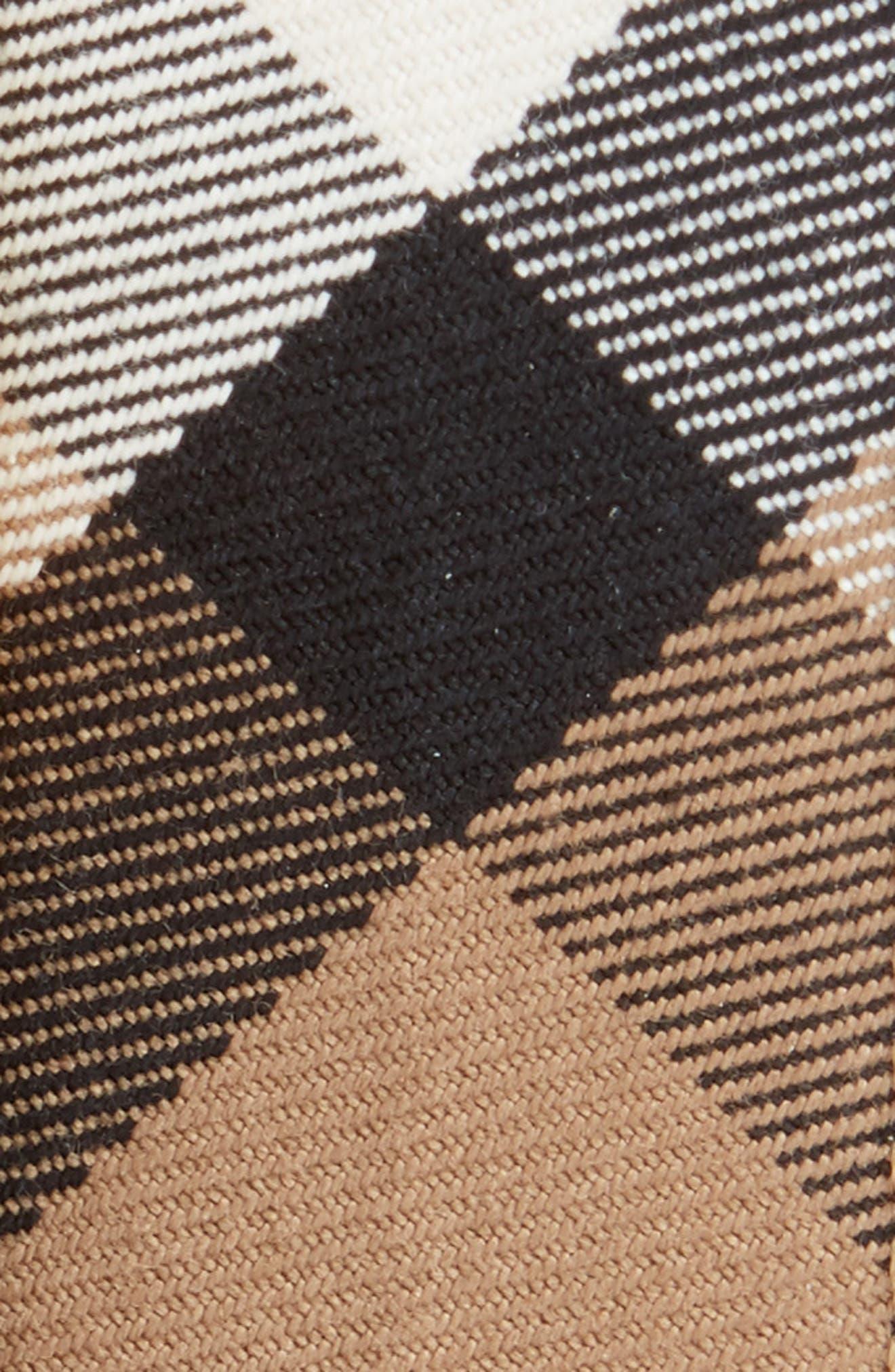 Mark House Check Belt,                             Alternate thumbnail 2, color,                             BLACK