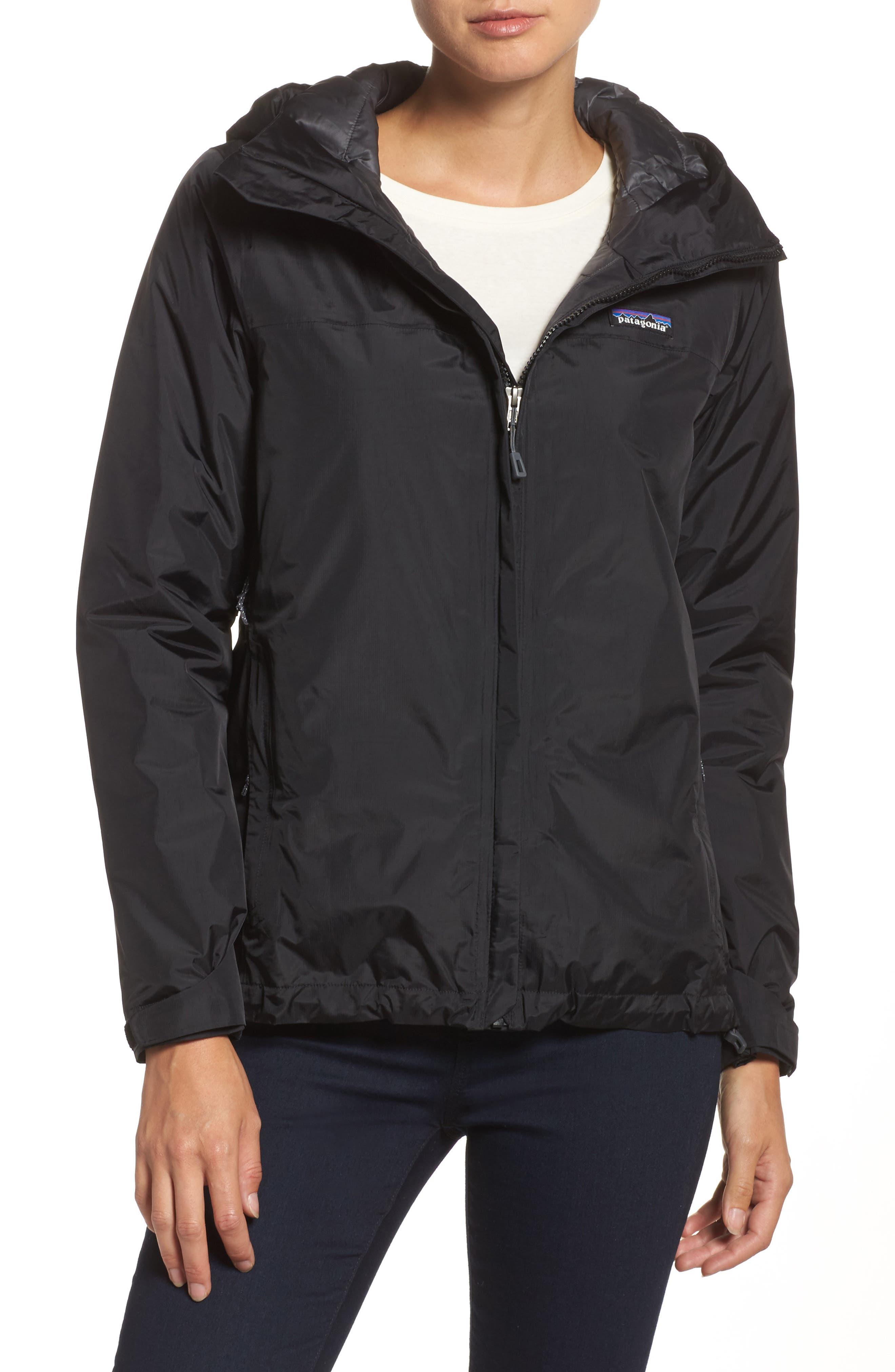 Torrentshell Packable Waterproof Insulated Jacket,                         Main,                         color, BLACK