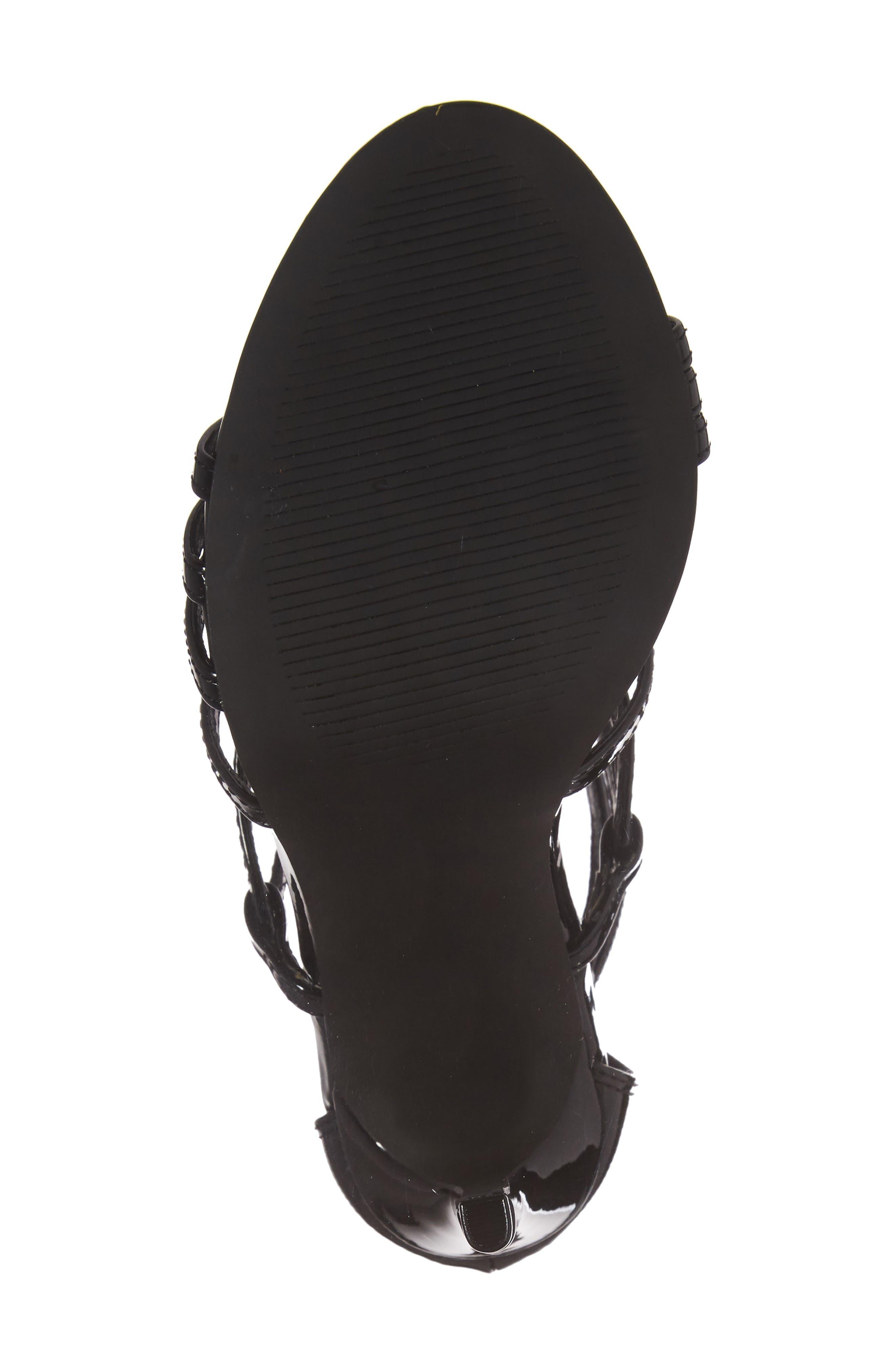 Flaunt Gladiator Sandal,                             Alternate thumbnail 6, color,                             008