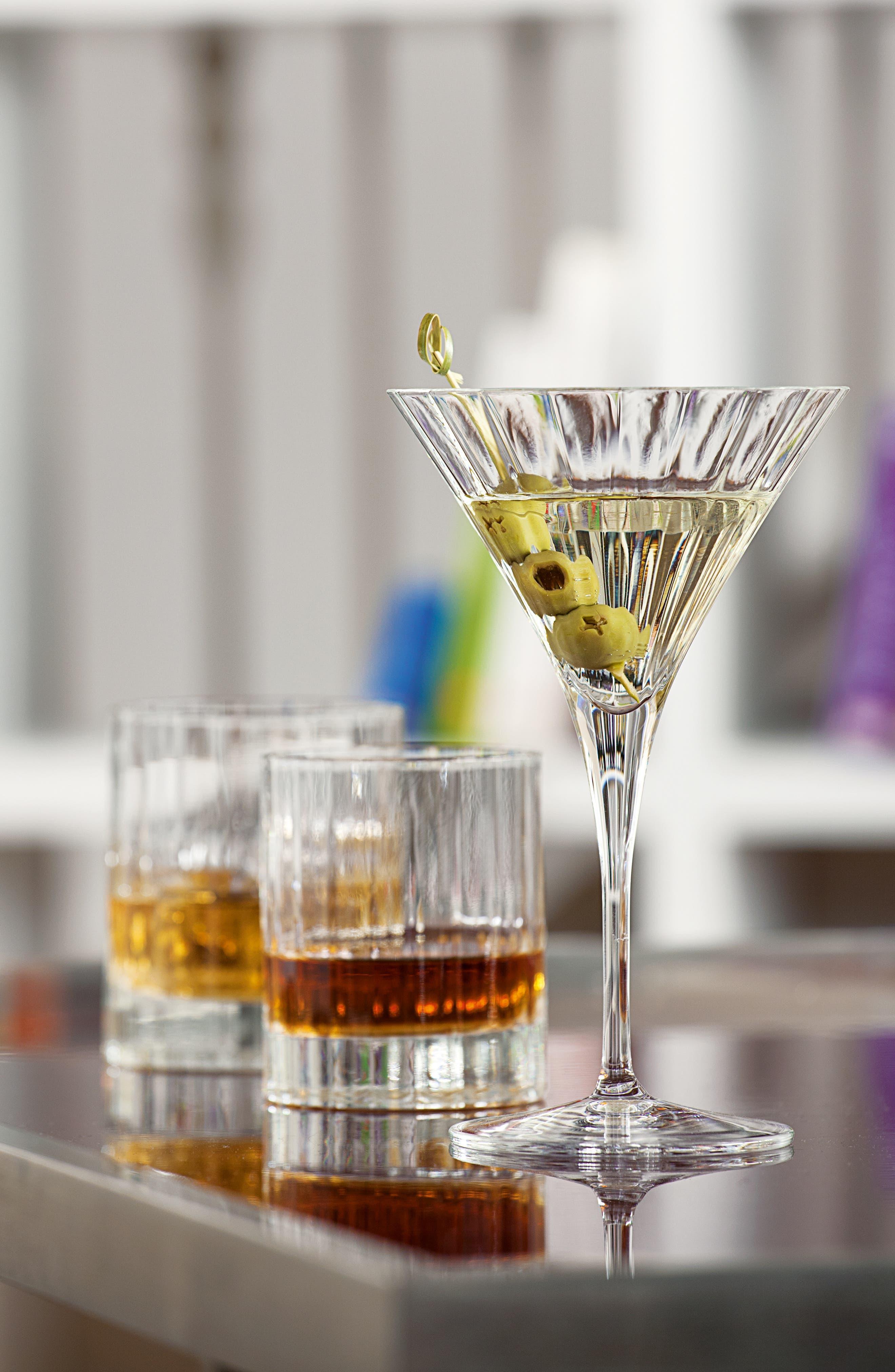'Bach' Martini Glasses,                             Alternate thumbnail 5, color,                             000