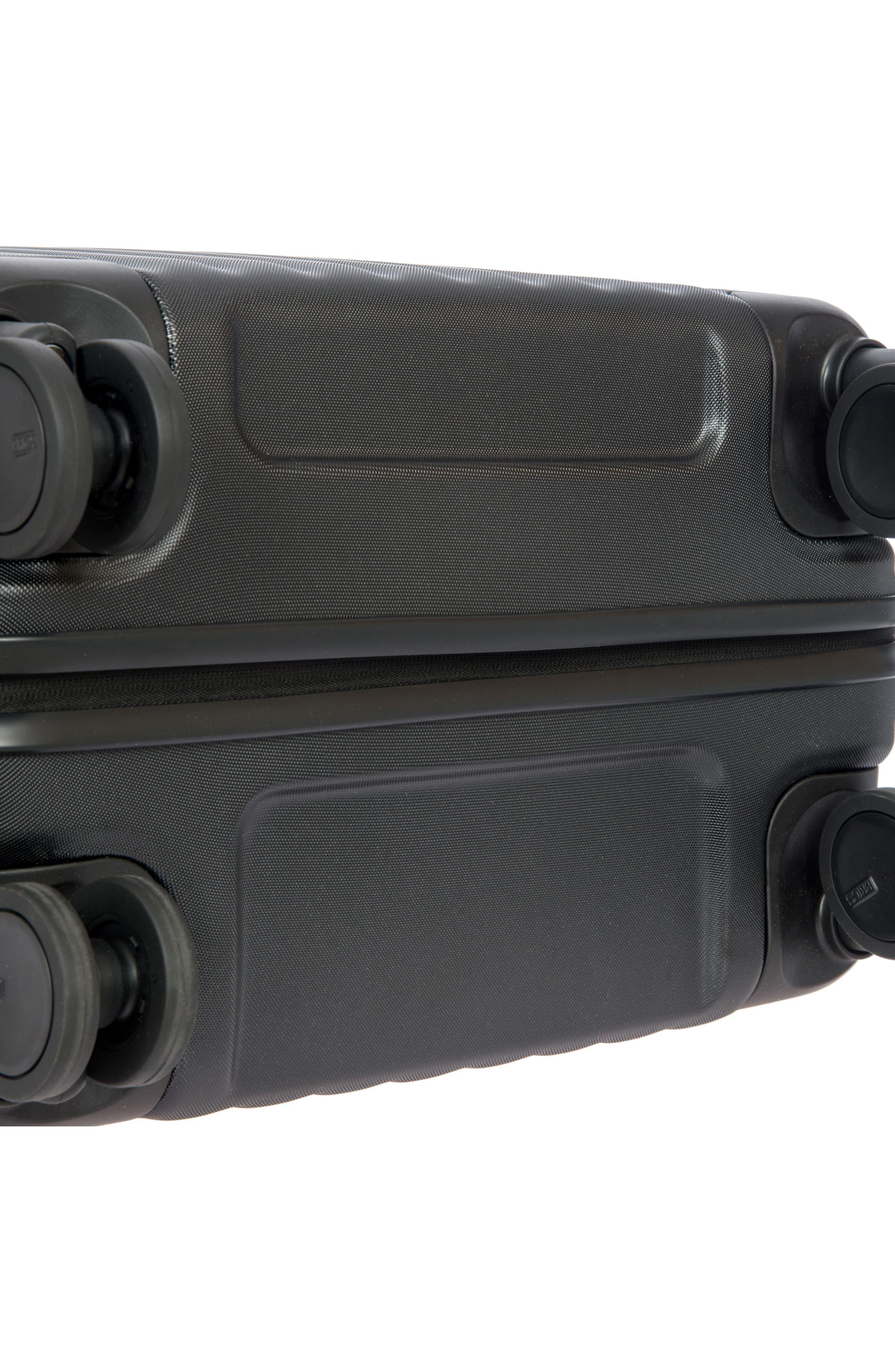 Capri 27-Inch Rolling Suitcase,                             Alternate thumbnail 10, color,                             MATTE BLACK