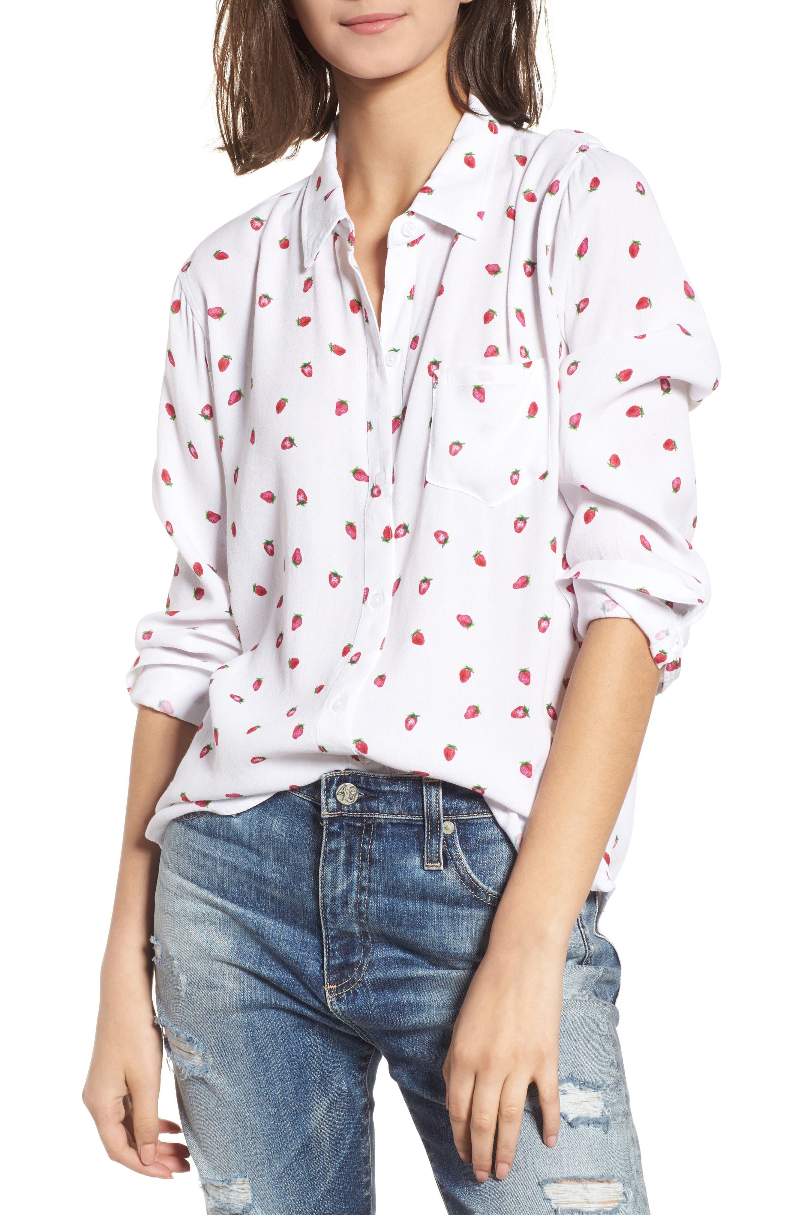 Kate Print Shirt,                             Main thumbnail 7, color,