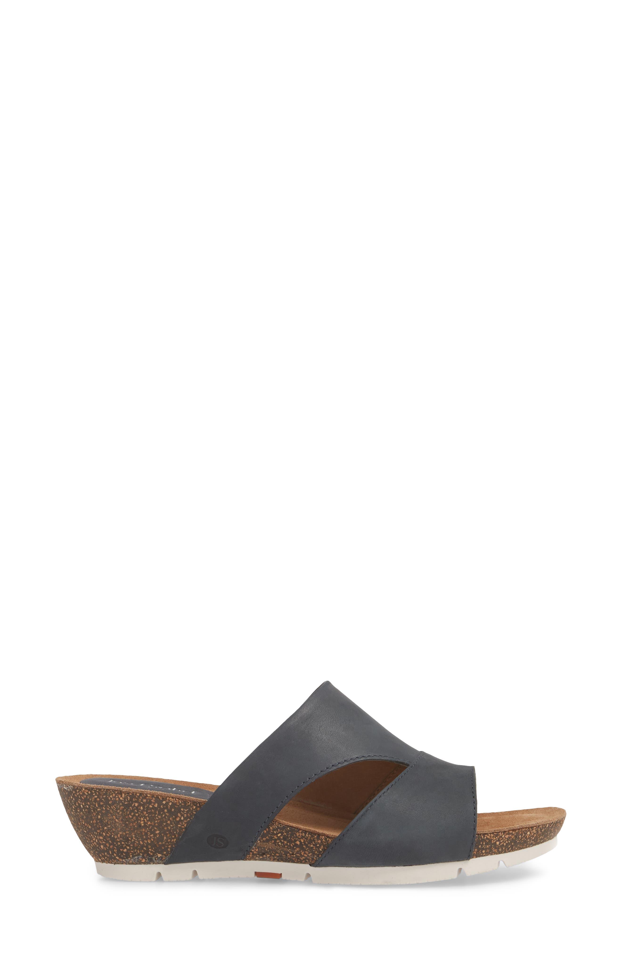 Hailey 40 Slide Sandal,                             Alternate thumbnail 6, color,