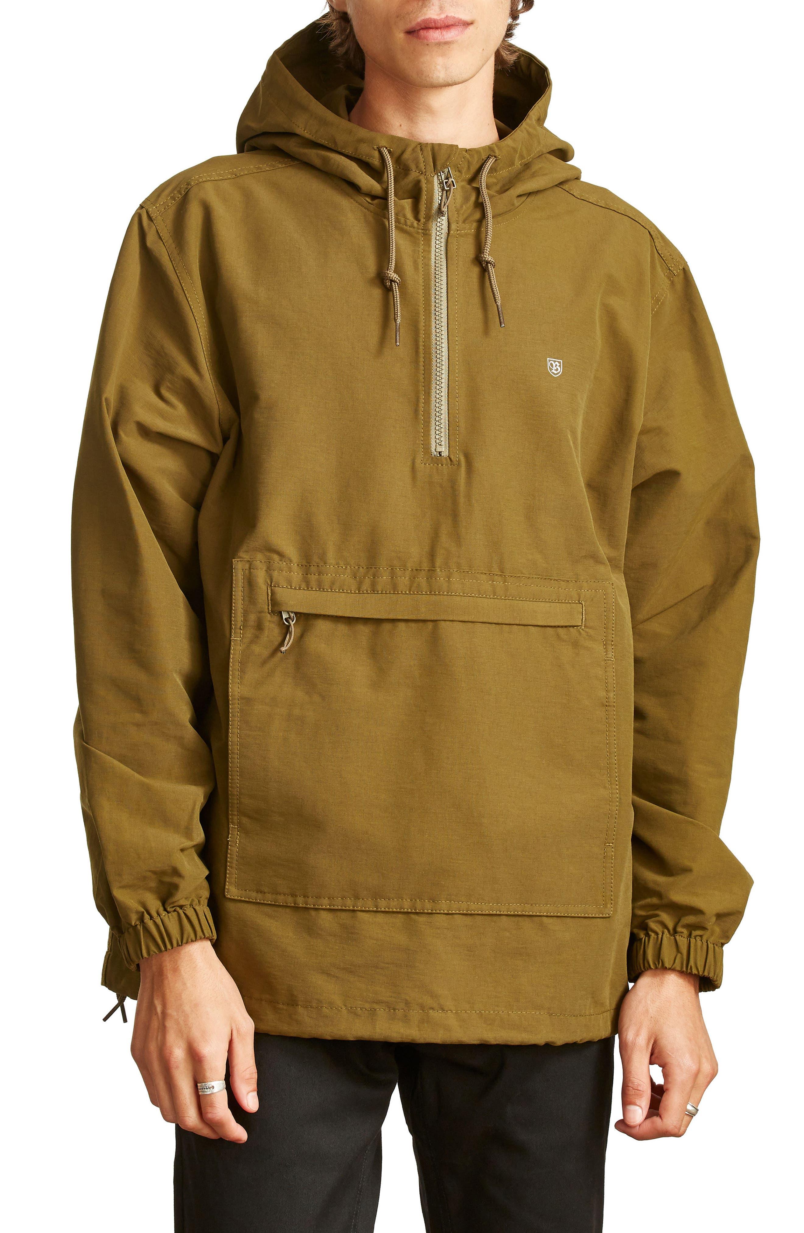 Patrol Water-Resistant Anorak Jacket,                             Main thumbnail 1, color,                             306
