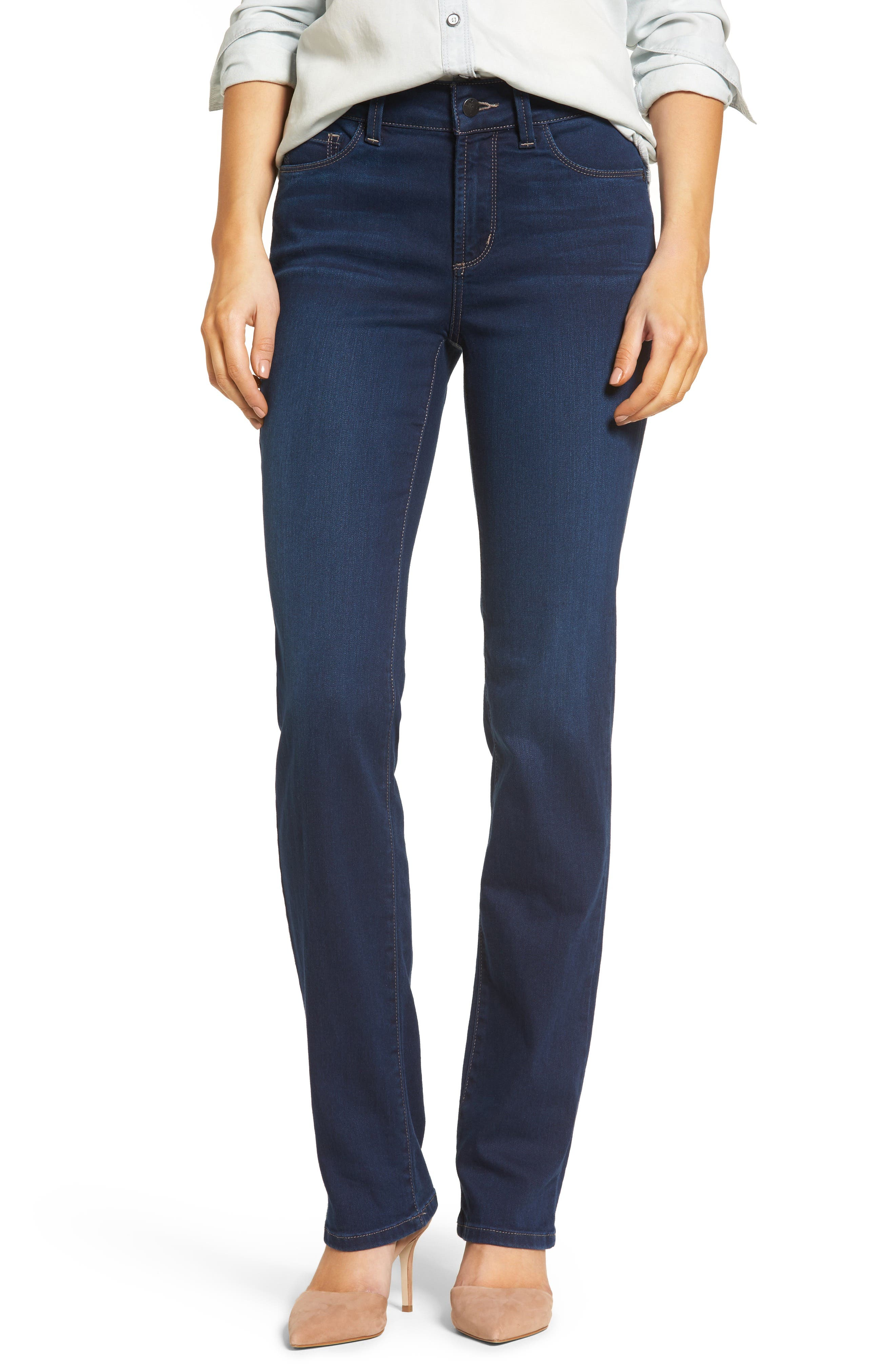 Marilyn Stretch Straight Leg Jeans,                         Main,                         color, 402