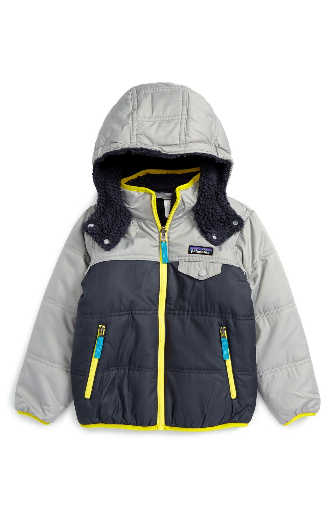 'Tribbles' Reversible Water Resistant Snow Jacket,                             Main thumbnail 6, color,