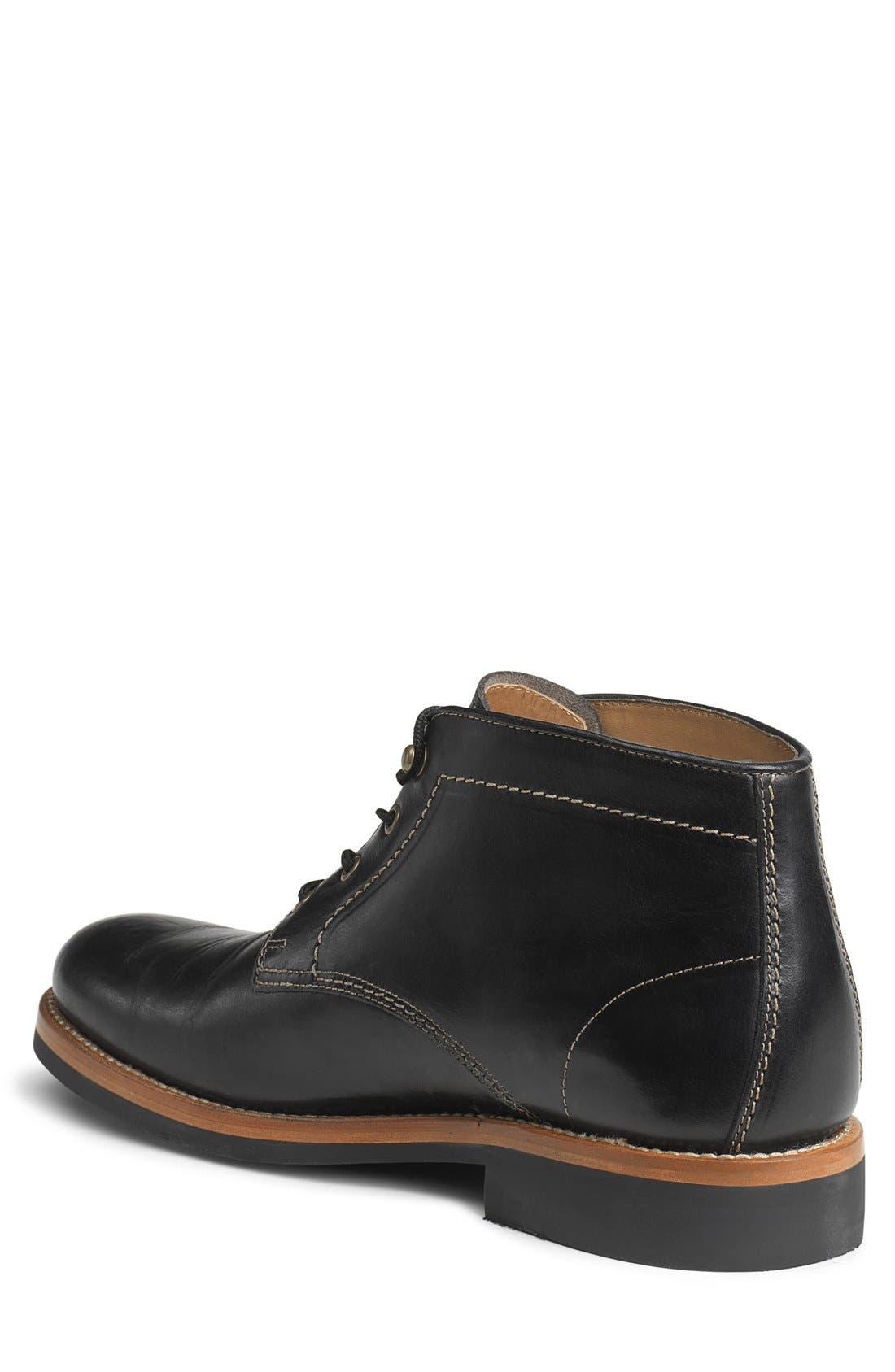 'Irving Mid' Plain Toe Boot,                             Alternate thumbnail 3, color,