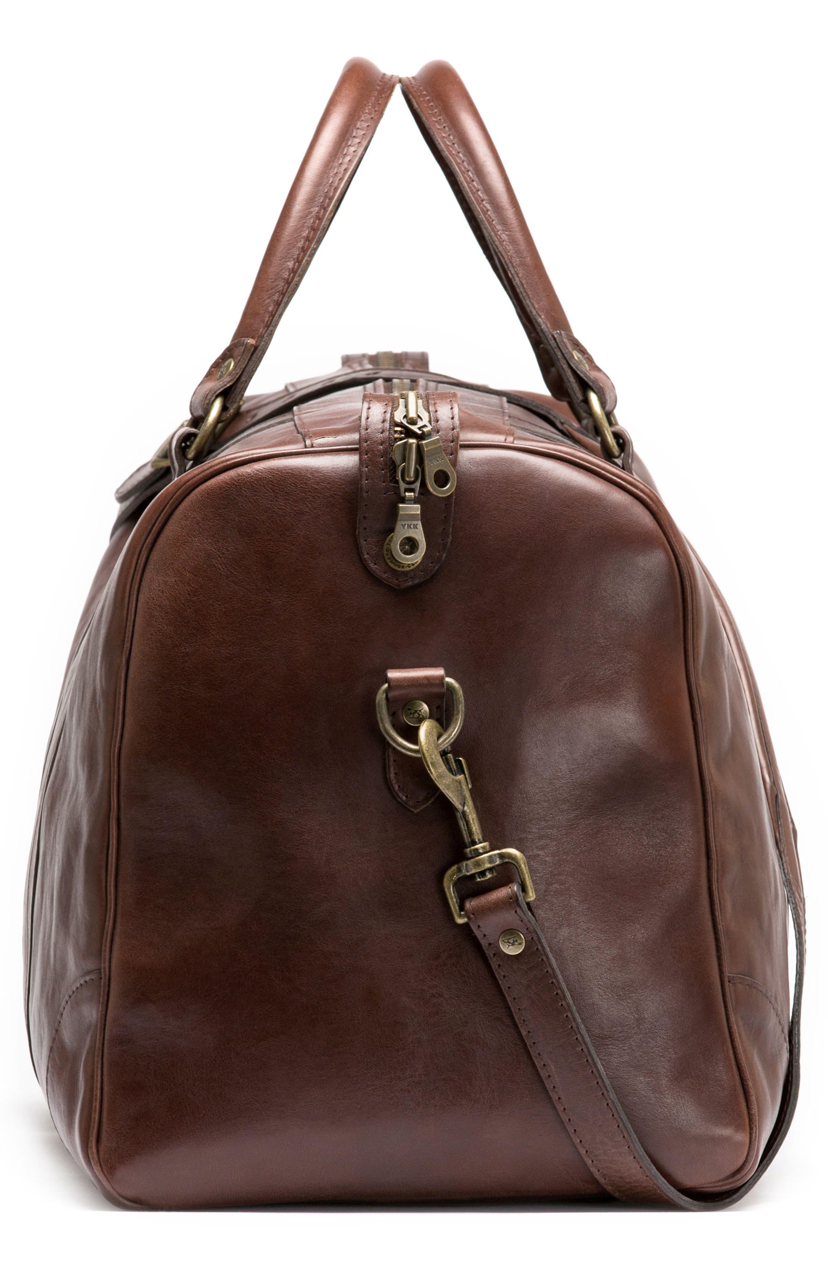 RODD & GUNN,                             Leather Duffel Bag,                             Alternate thumbnail 3, color,                             216