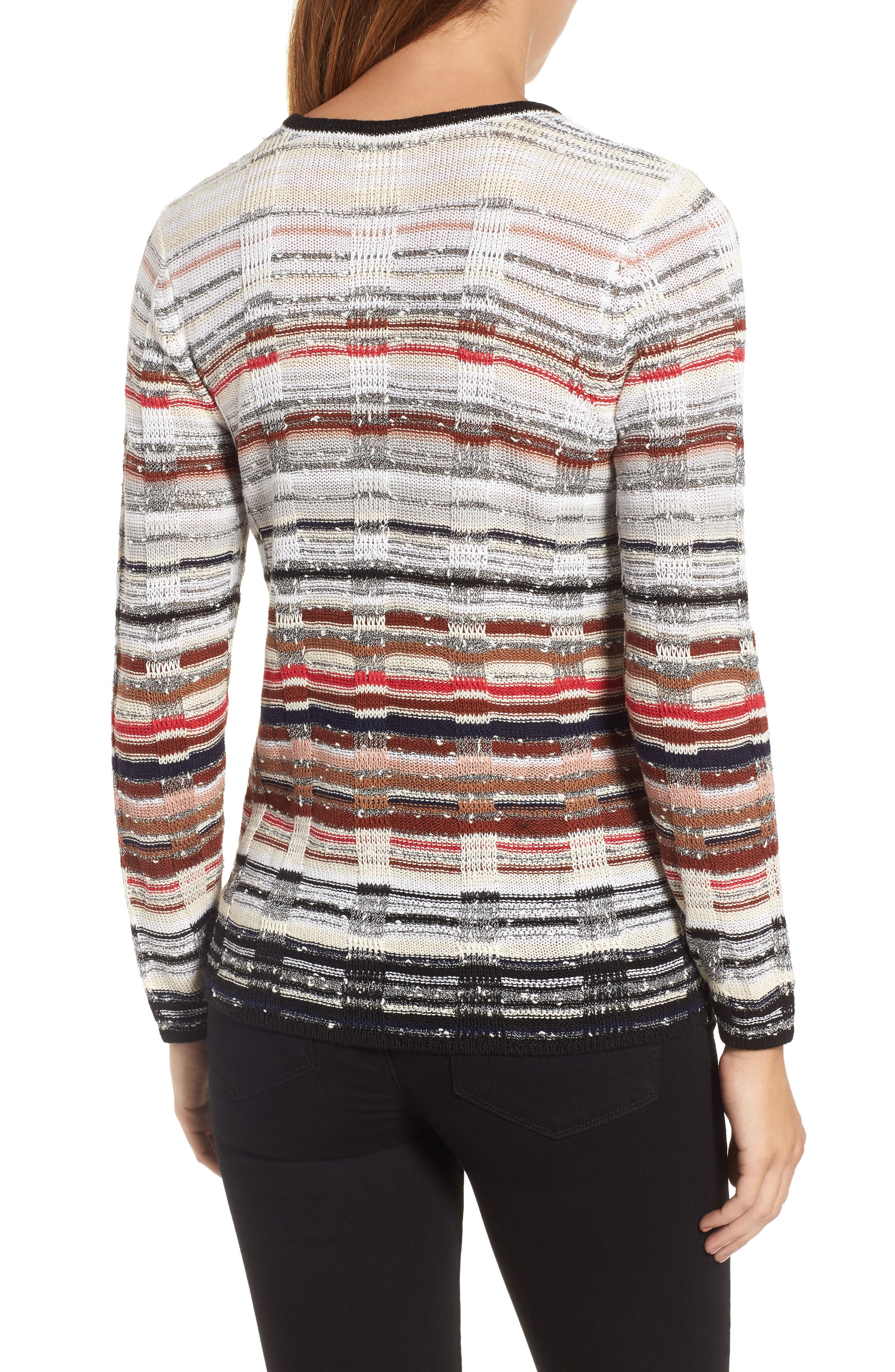 Red Hills Sweater,                             Alternate thumbnail 2, color,                             609