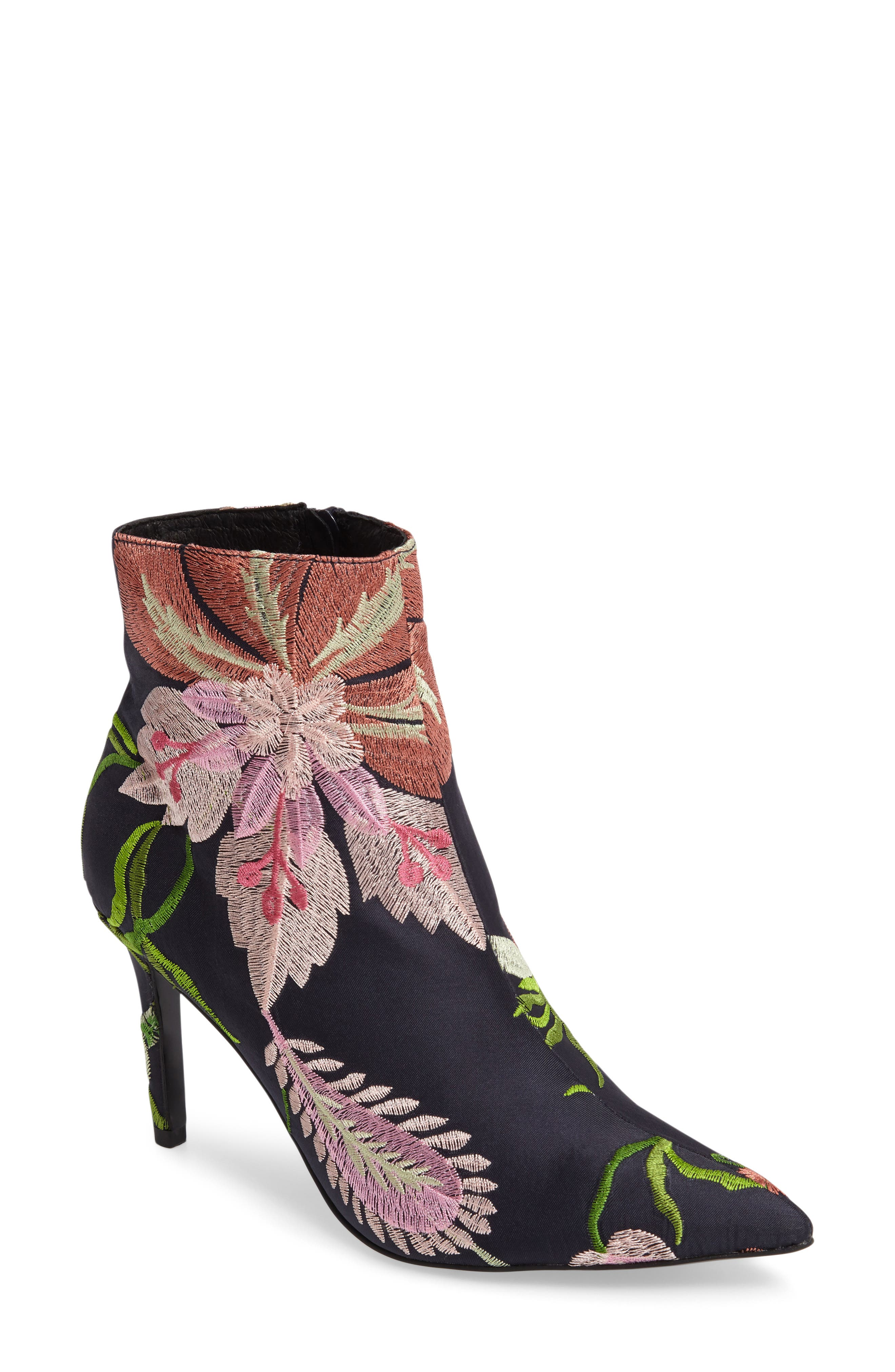Mimosa Pointy Toe Bootie,                             Main thumbnail 1, color,                             002