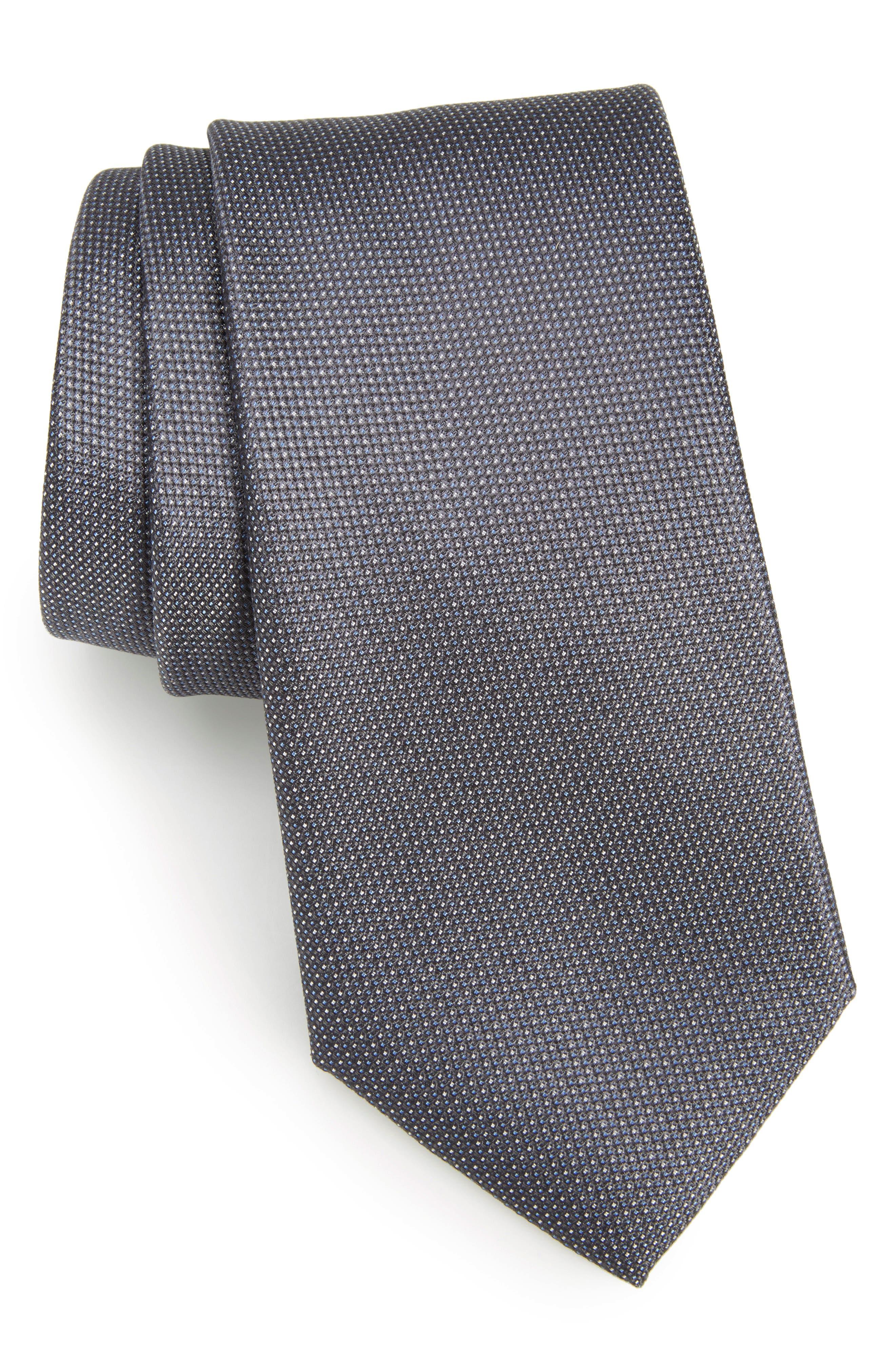 Rawson Solid Silk Tie,                             Main thumbnail 1, color,                             010