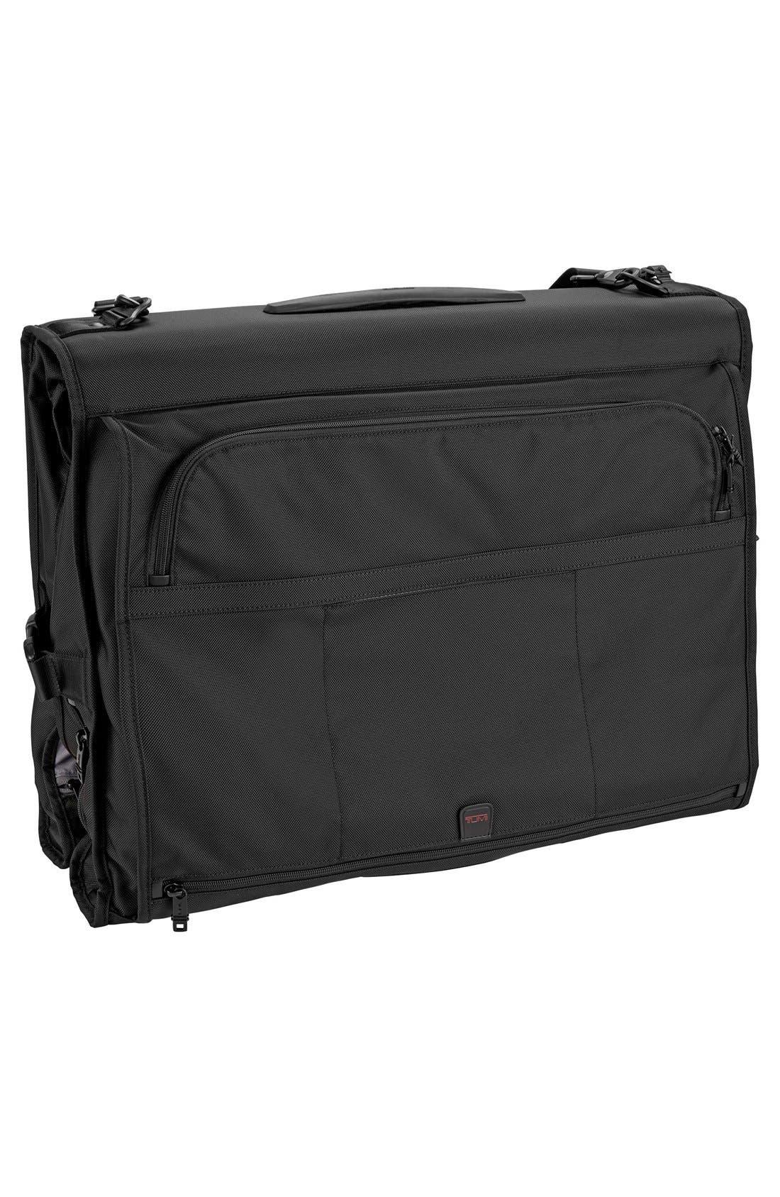 TUMI,                             Alpha 2 Classic Garment Bag,                             Alternate thumbnail 3, color,                             001