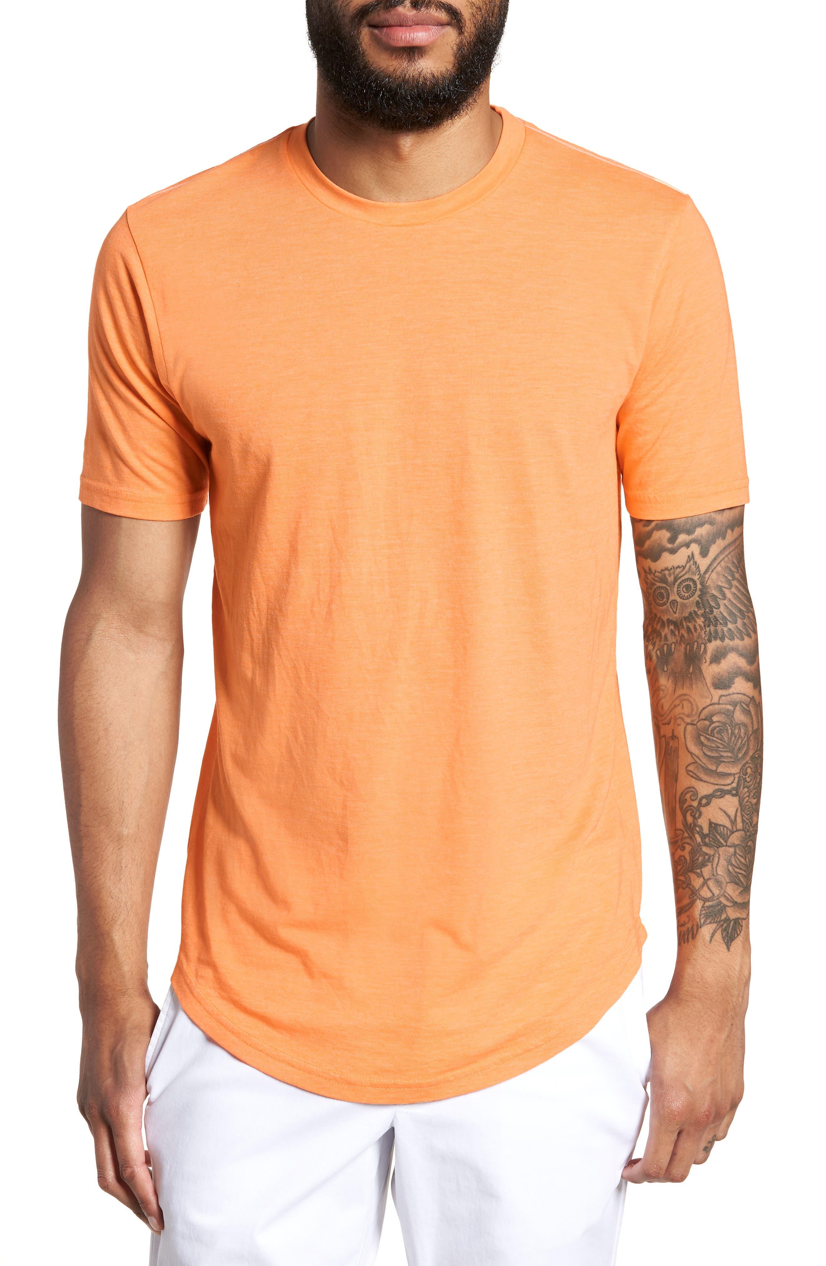 Scallop Triblend Crewneck T-Shirt,                             Main thumbnail 14, color,