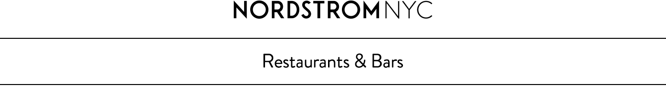 About Nordstrom NYC's restaurants.