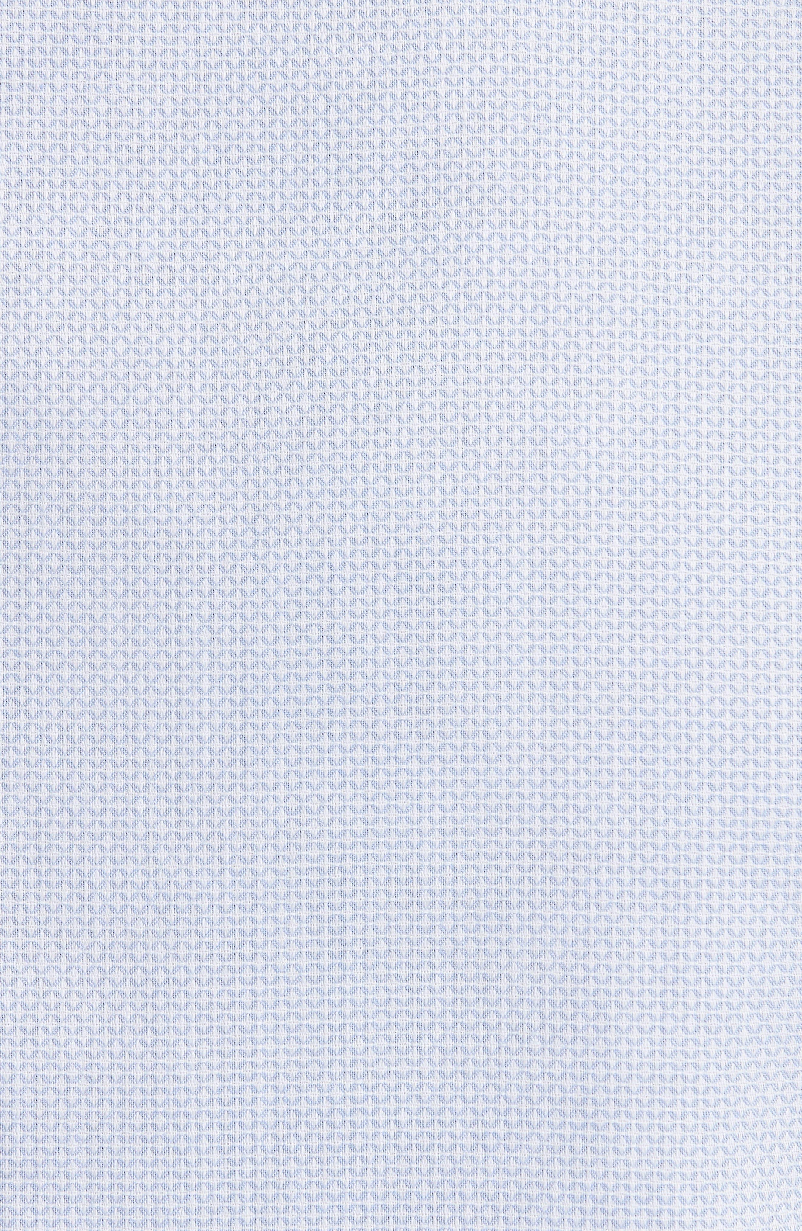 Geometric Neat Jacquard Sport Shirt,                             Alternate thumbnail 5, color,                             491
