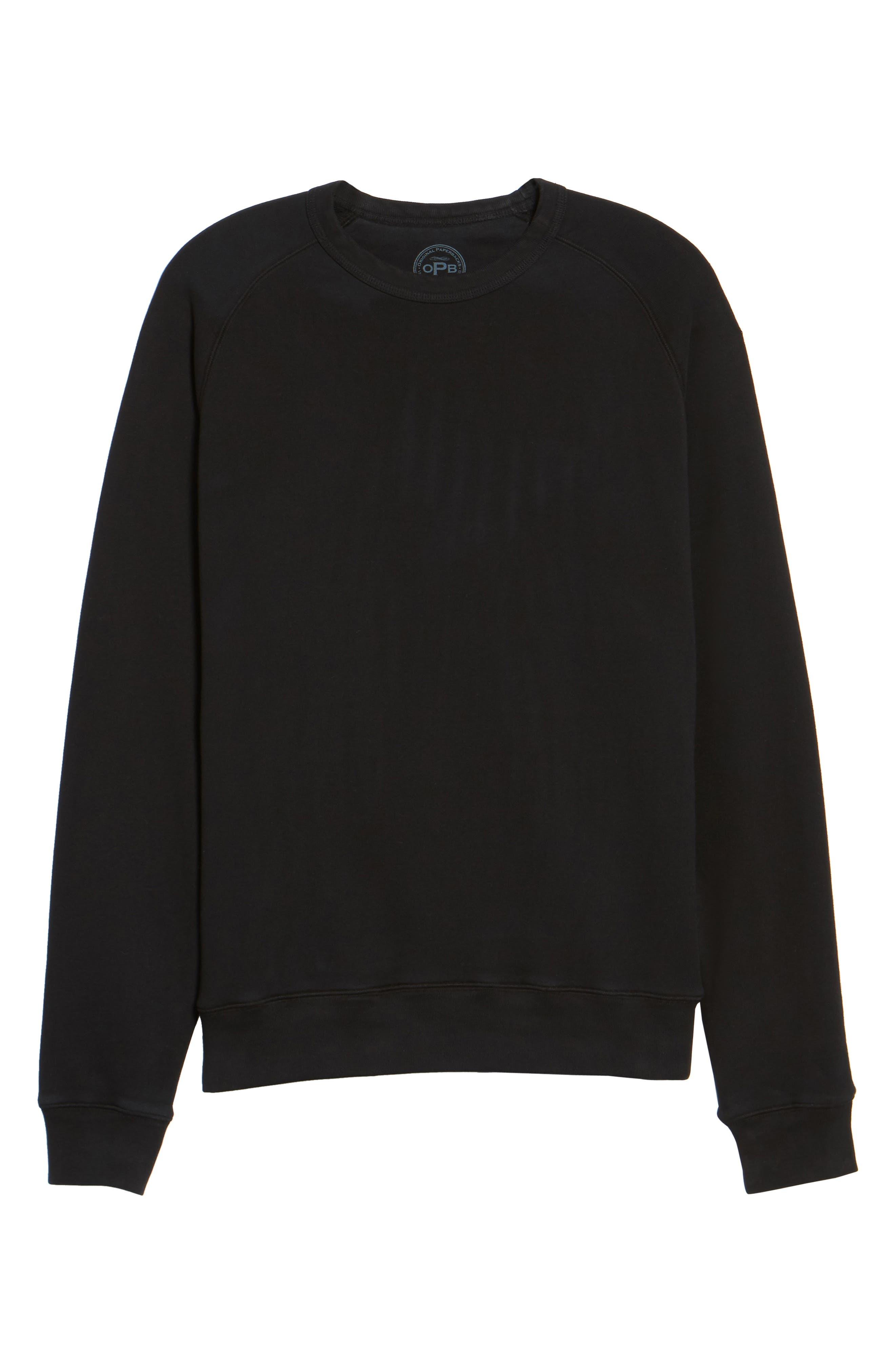 South Sea Raglan Sweatshirt,                             Alternate thumbnail 16, color,