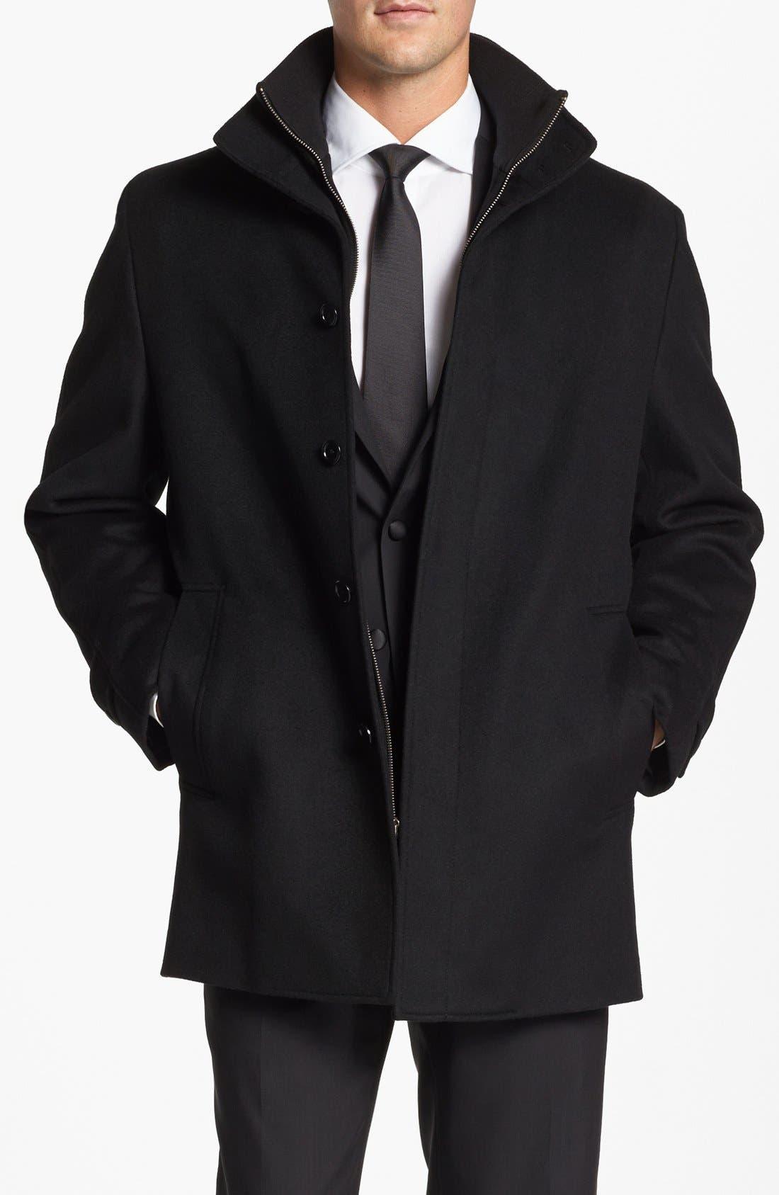 Wool Jacket,                         Main,                         color, 001