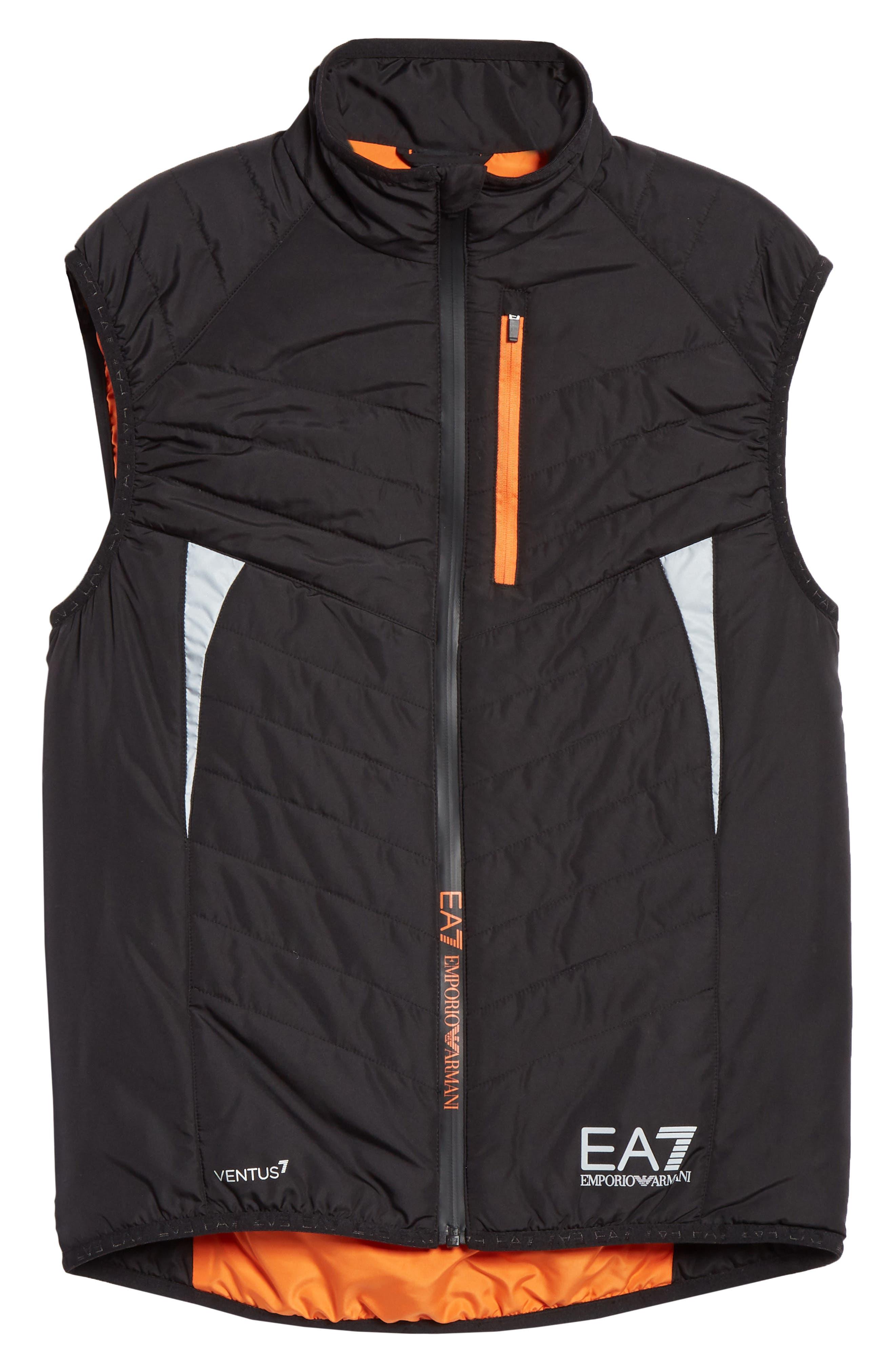 Water Resistant Vest,                             Alternate thumbnail 5, color,                             BLACK