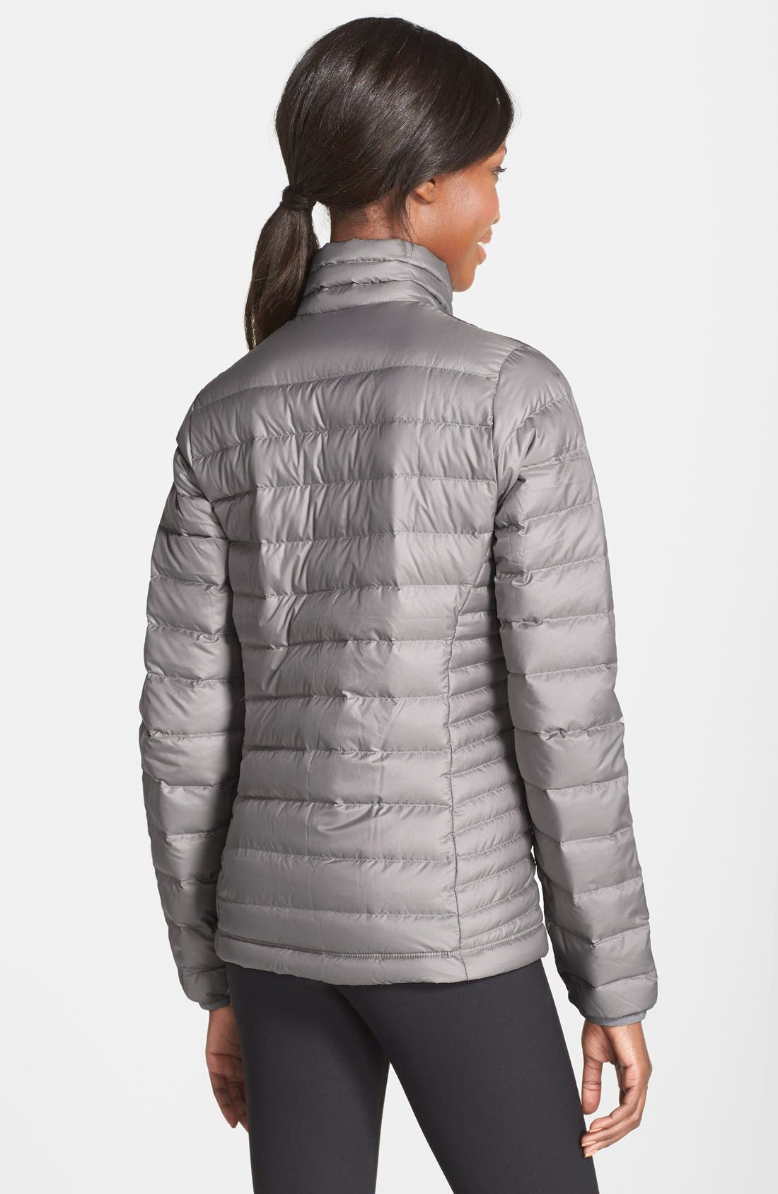 Down Jacket,                             Alternate thumbnail 2, color,                             FEATHER GREY
