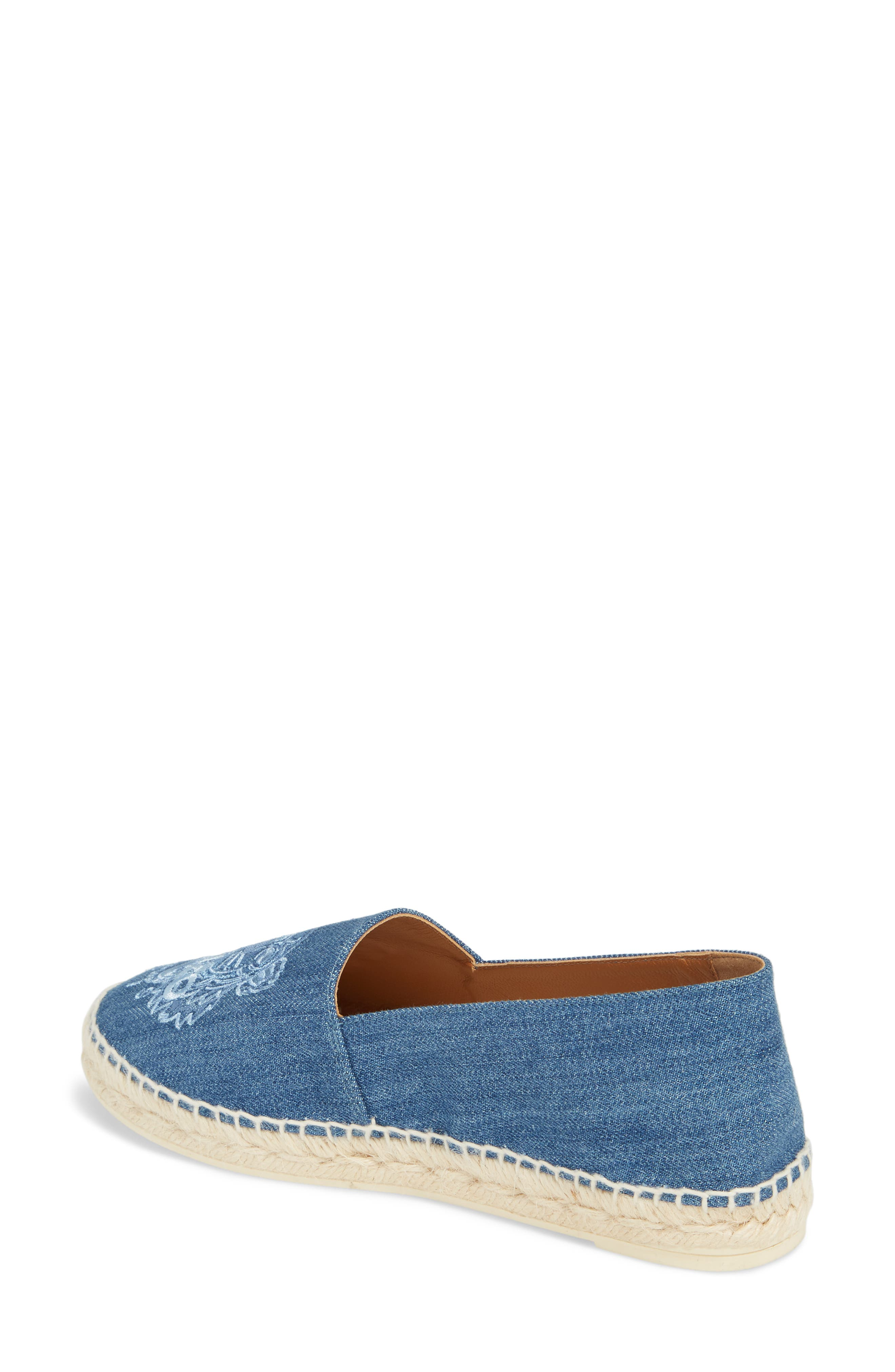 Tiger Embroidered Espadrille,                             Alternate thumbnail 2, color,                             452