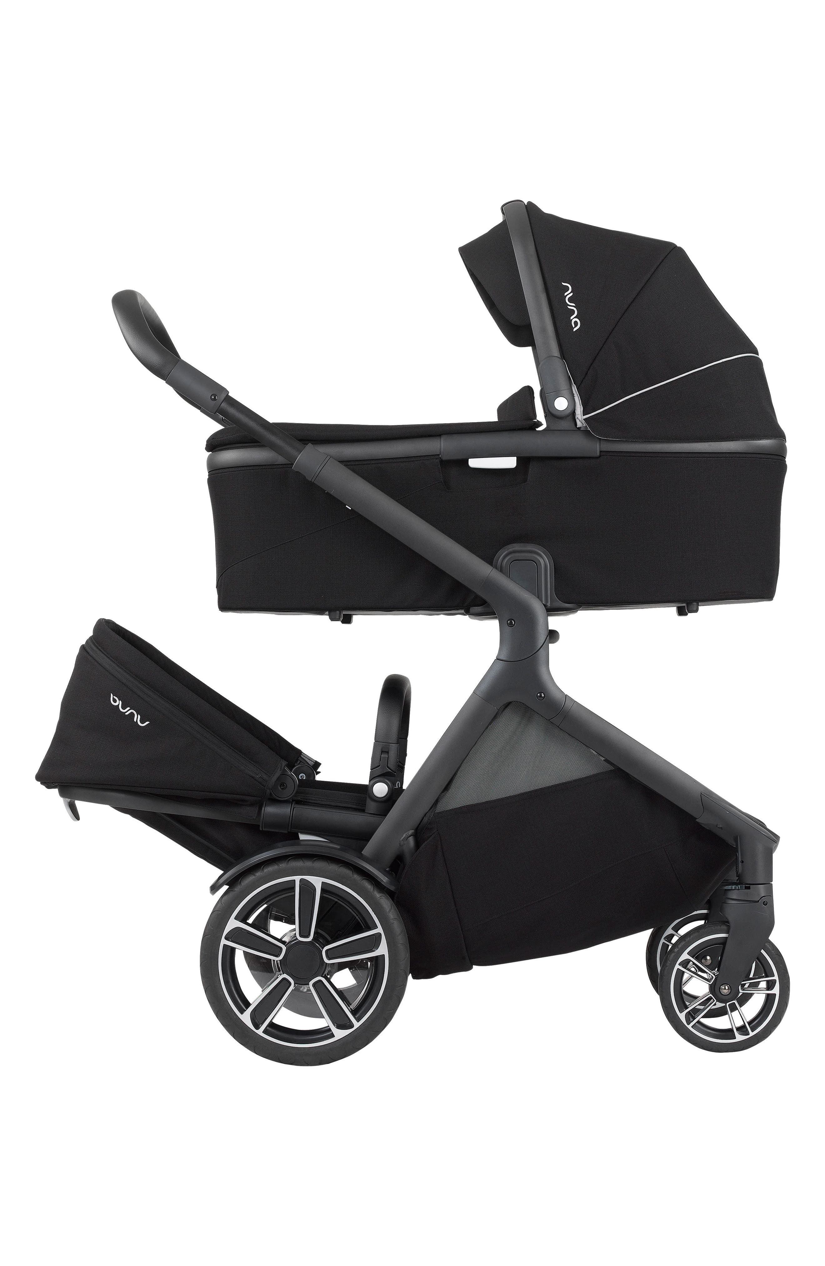 DEMI<sup>™</sup> Grow Sibling Seat Attachment for DEMI Grow Stroller,                             Alternate thumbnail 5, color,                             CAVIAR