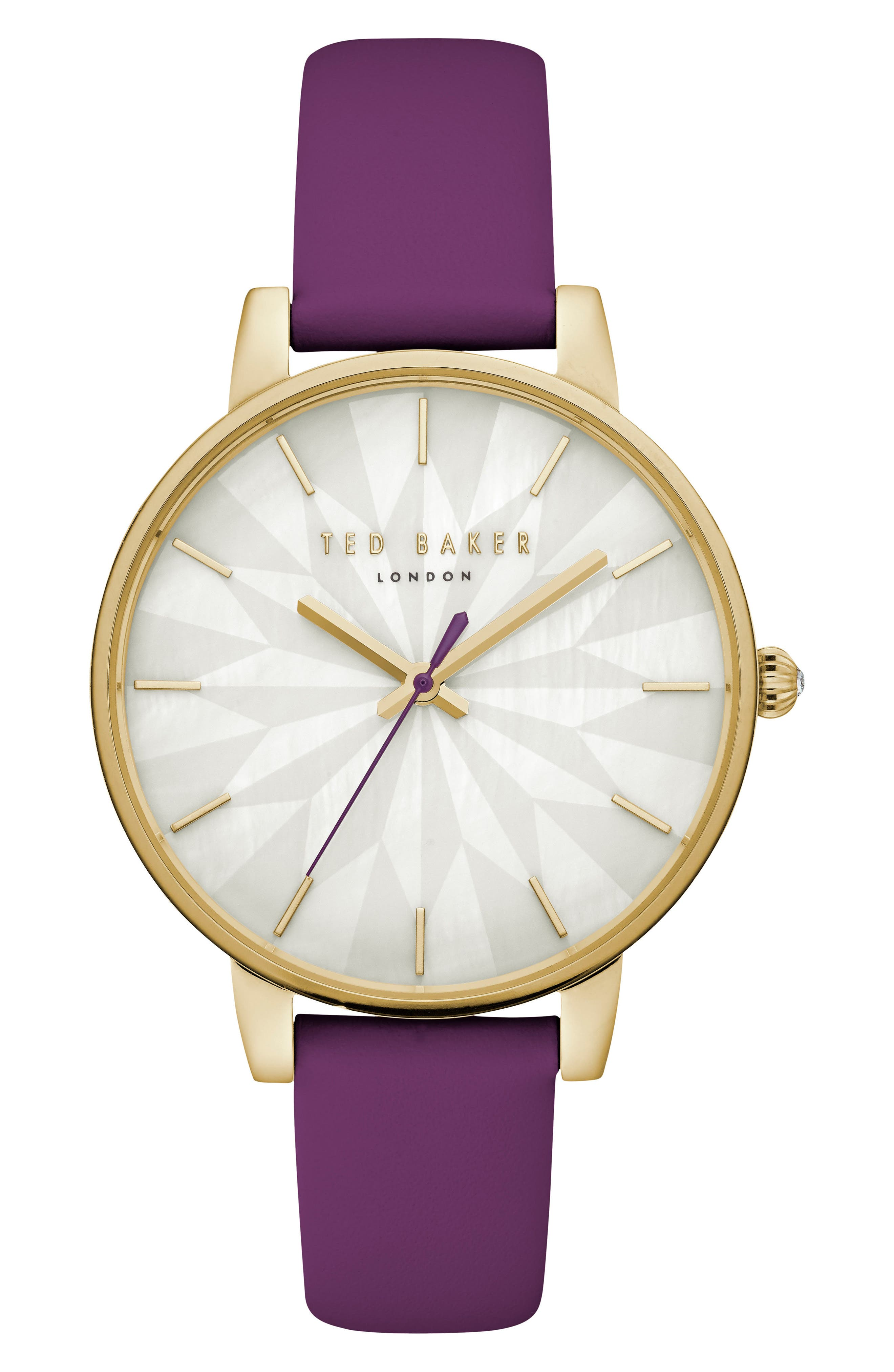 Kate Leather Strap Watch, 38mm,                             Main thumbnail 2, color,