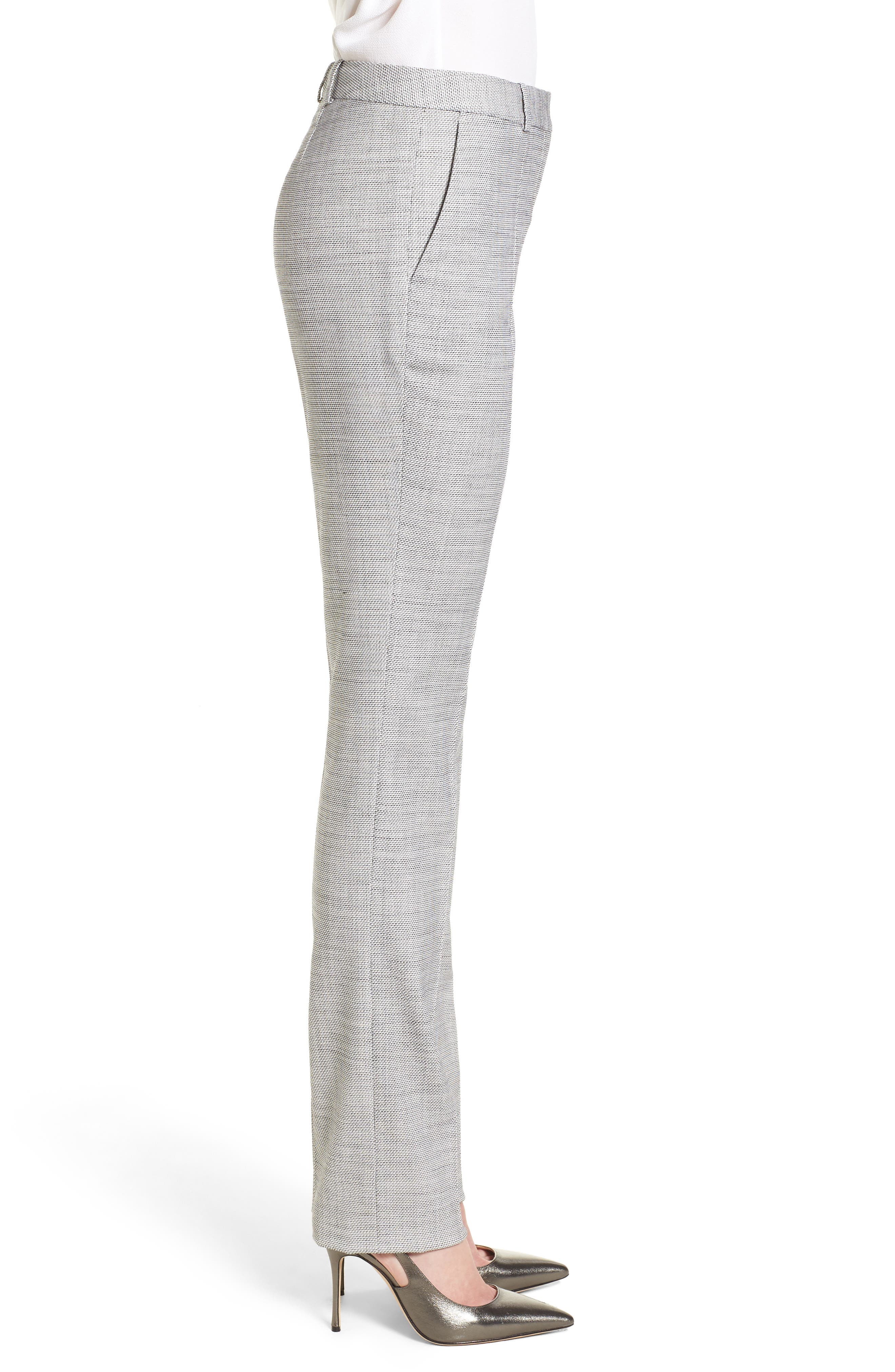 Titana Straight Leg Suit Pants,                             Alternate thumbnail 3, color,                             165