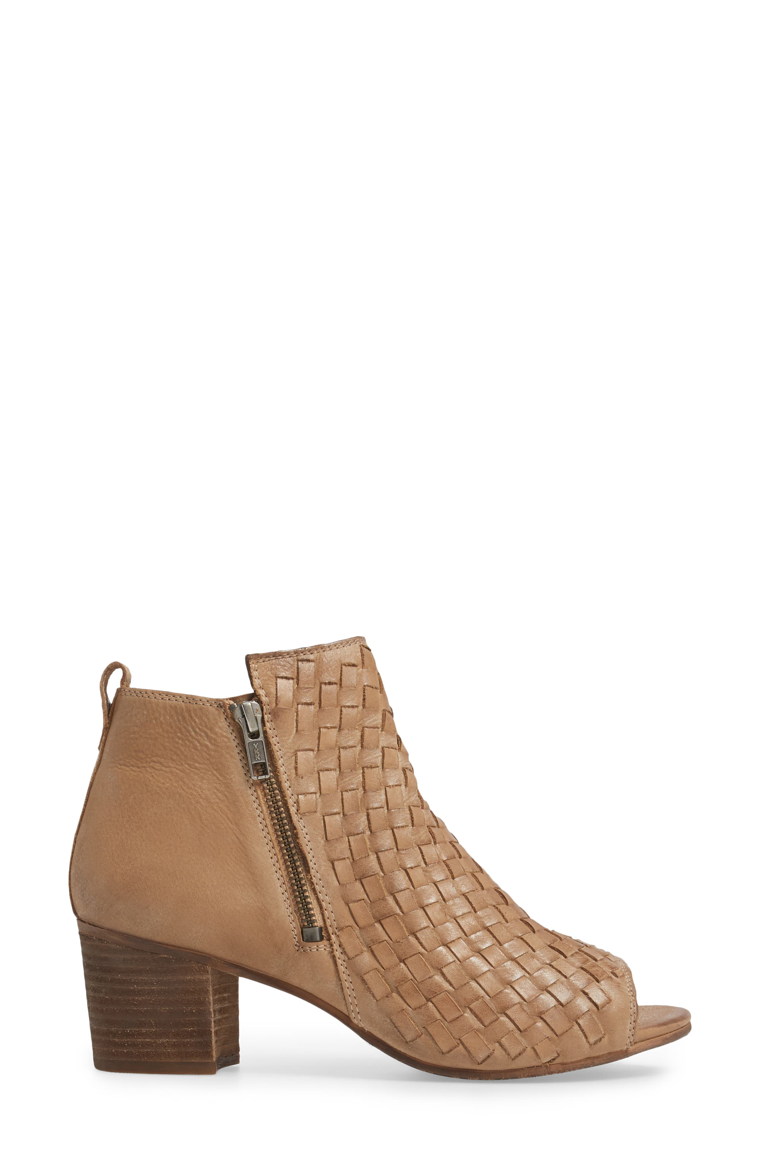 Cacey Open Toe Bootie,                             Alternate thumbnail 6, color,