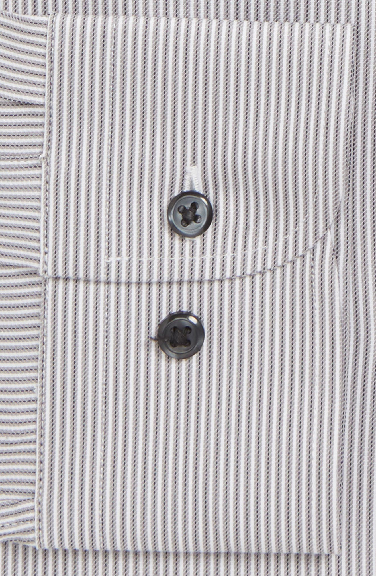 NORDSTROM MEN'S SHOP,                             Tech-Smart Trim Fit Stretch Stripe Dress Shirt,                             Alternate thumbnail 2, color,                             021